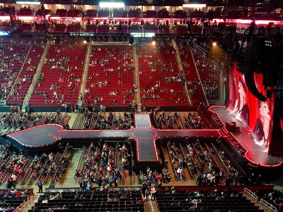 Toyota Center Section 409 Concert Seating Rateyourseats Com