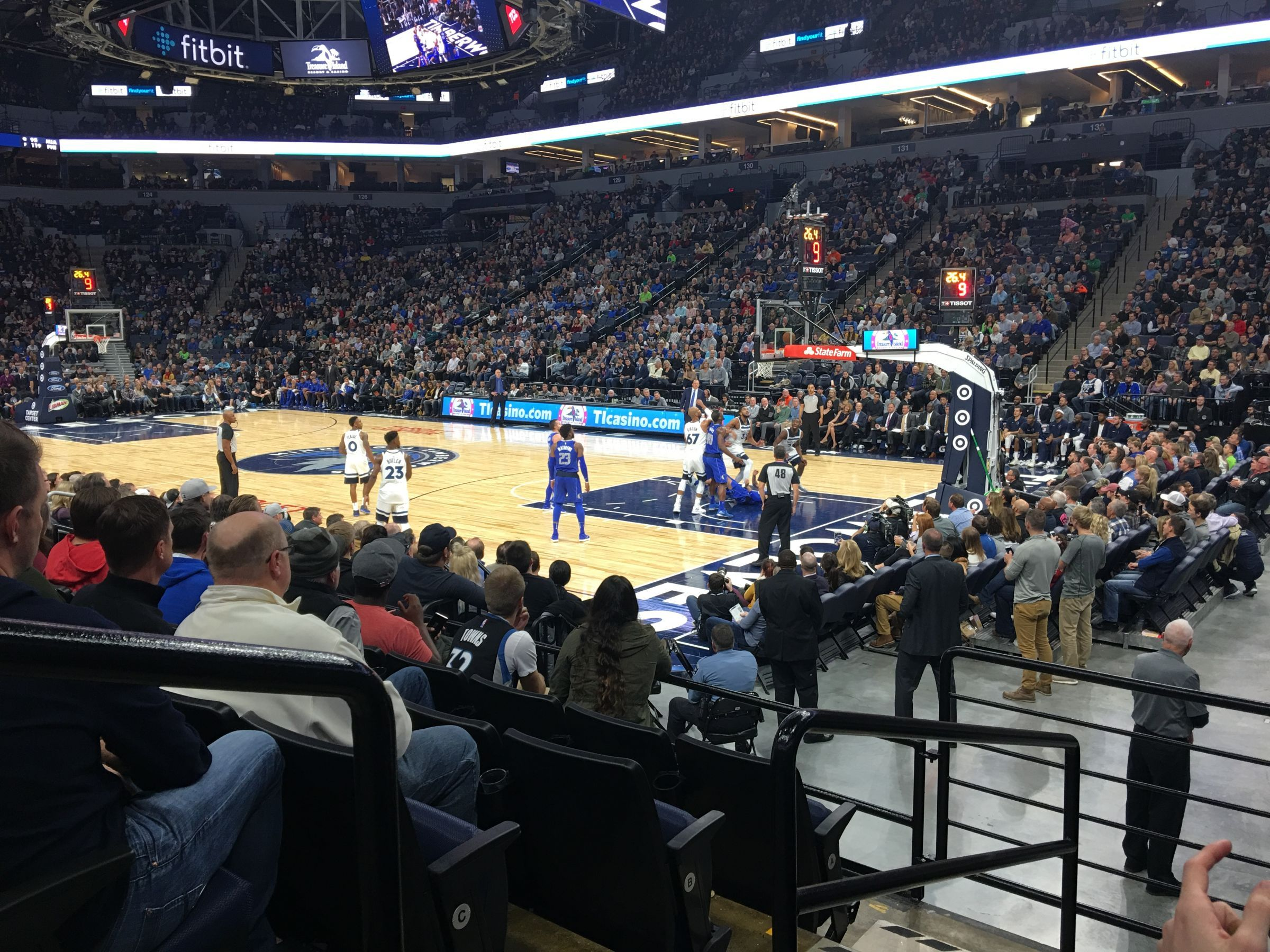 Target Center Section 106 Minnesota Timberwolves Rateyourseats Com