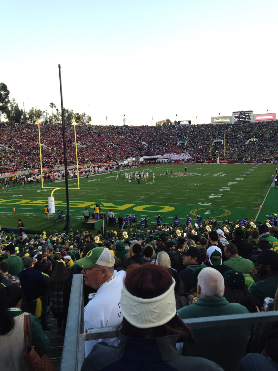 Seat View for Rose Bowl Stadium Section 13, Row 30