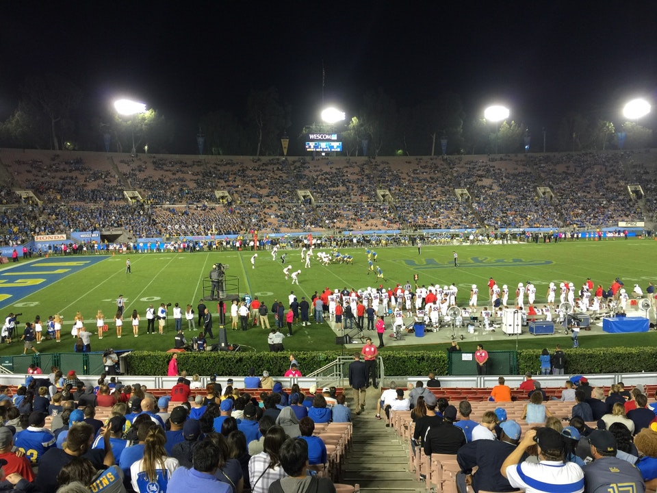Seat View for Rose Bowl Stadium Section 17, Row 26