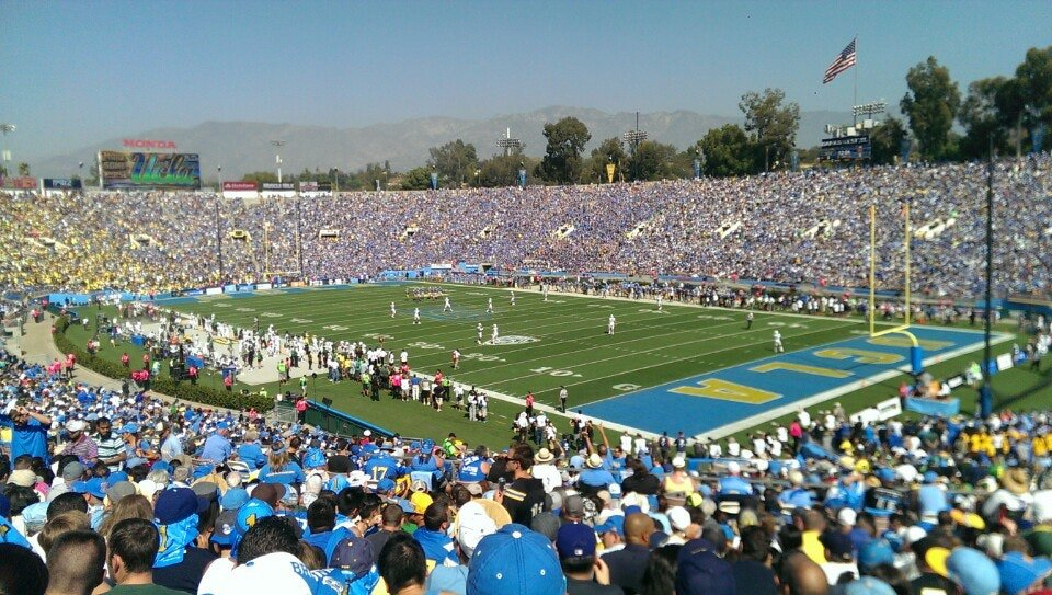 Seat View for Rose Bowl Stadium Section 22, Row 40