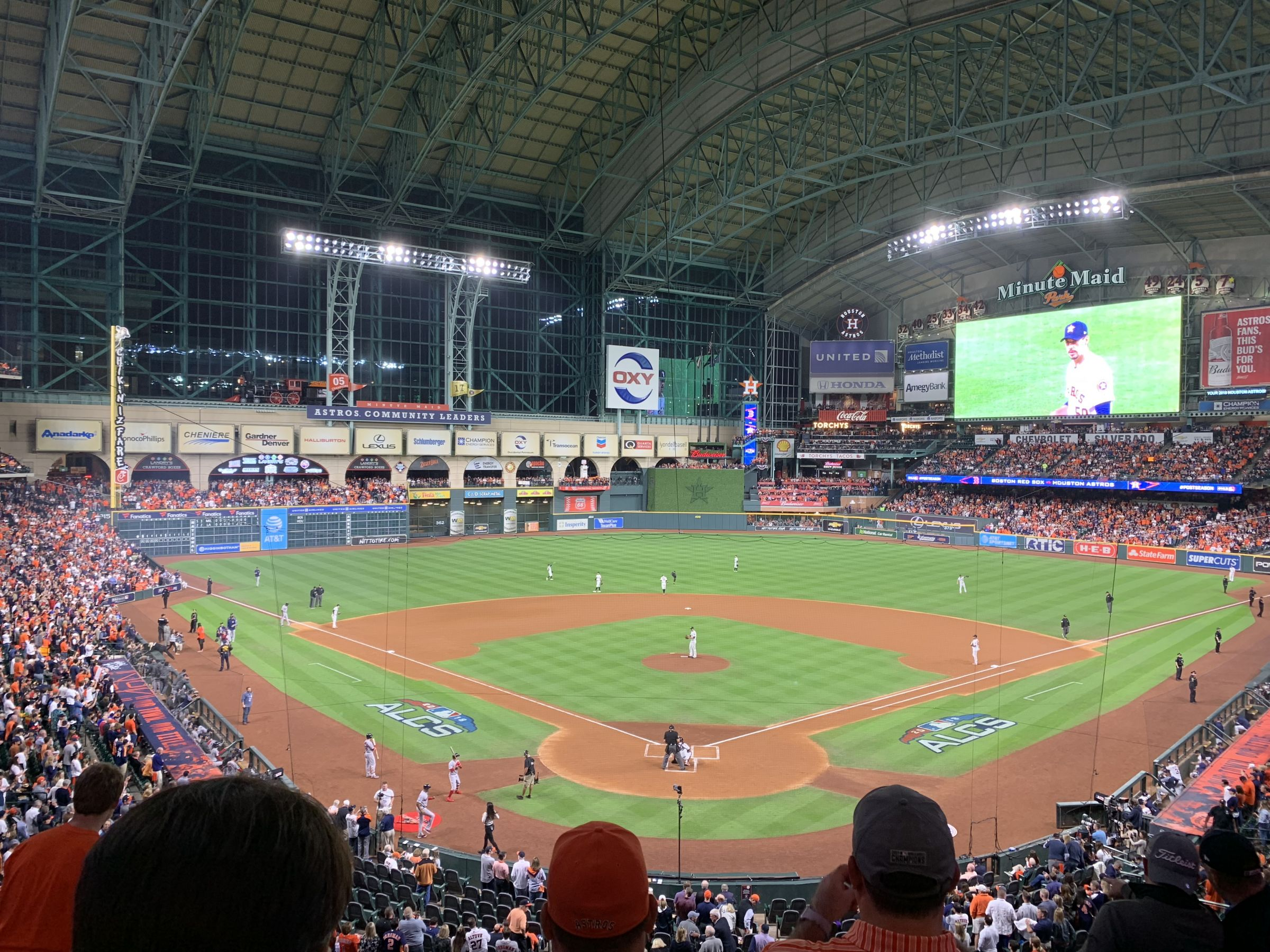 Seat View for Minute Maid Park Section 219, Row 5, Seat 8