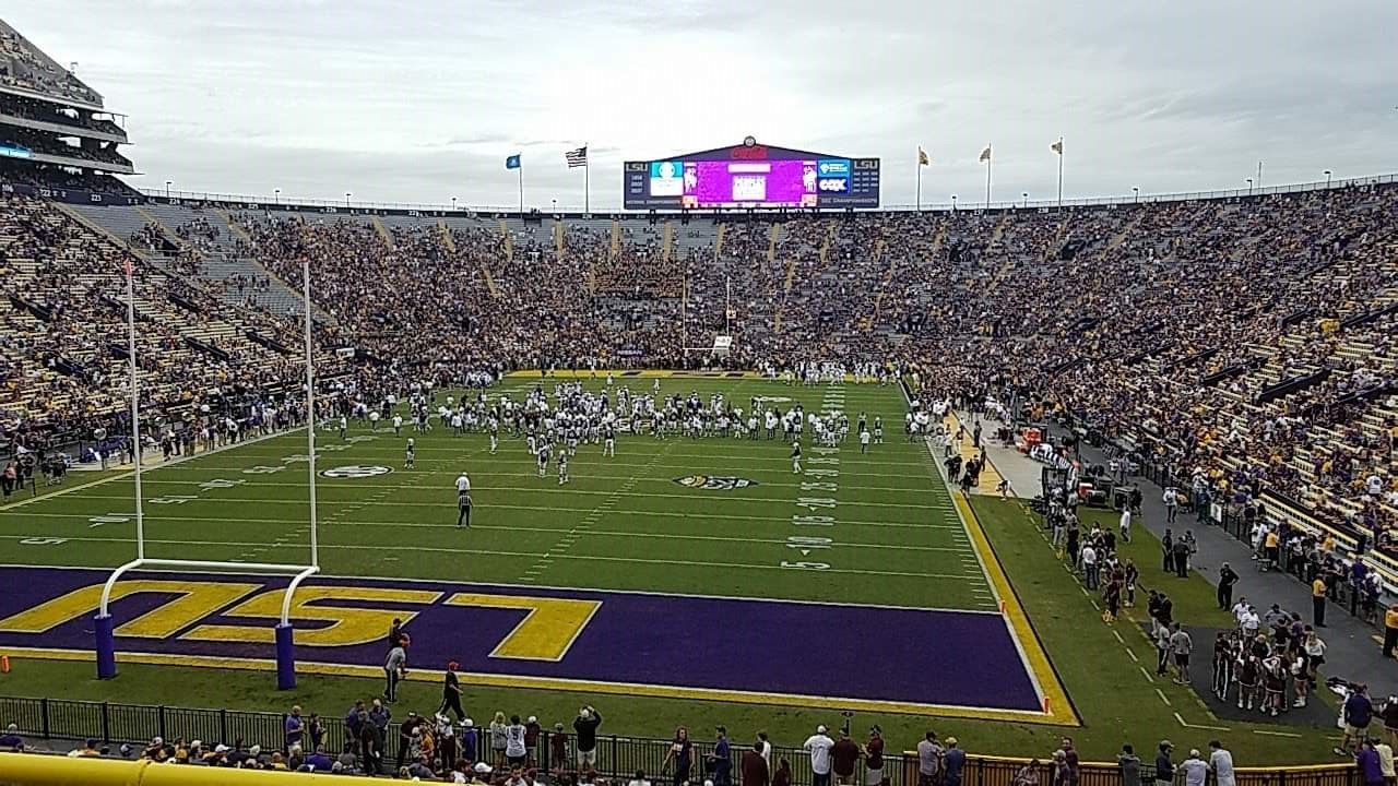 Seat View for Tiger Stadium Section 416, Row 3, Seat 15