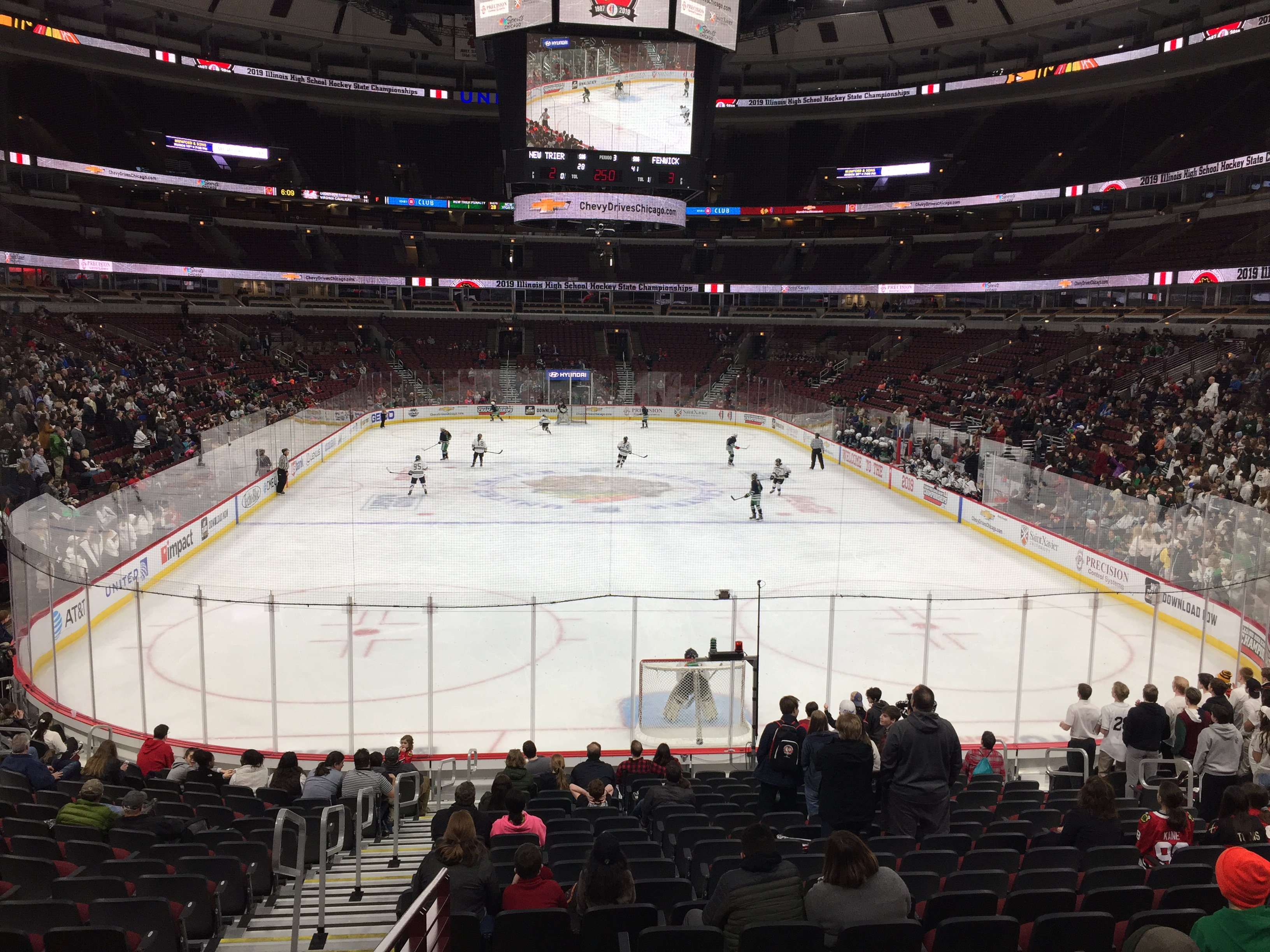 United Center Section 106 - Chicago Blackhawks ...