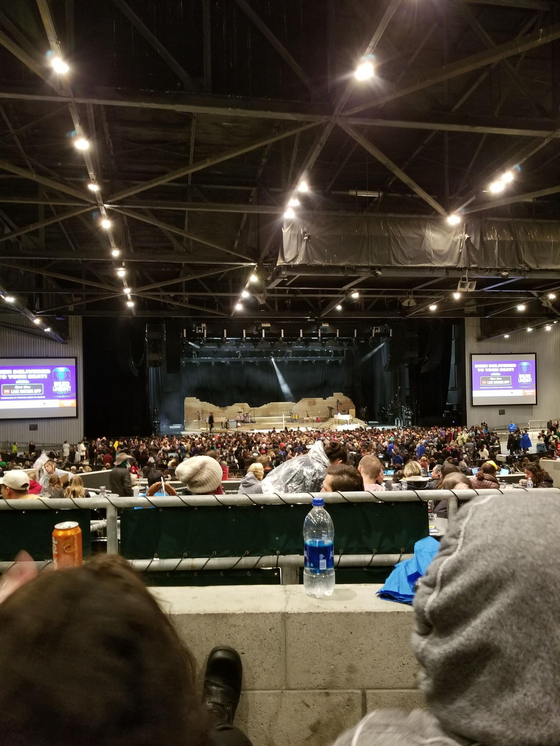 Concert Seat View for Concord Pavilion Section 206, Row BB, Seat 5