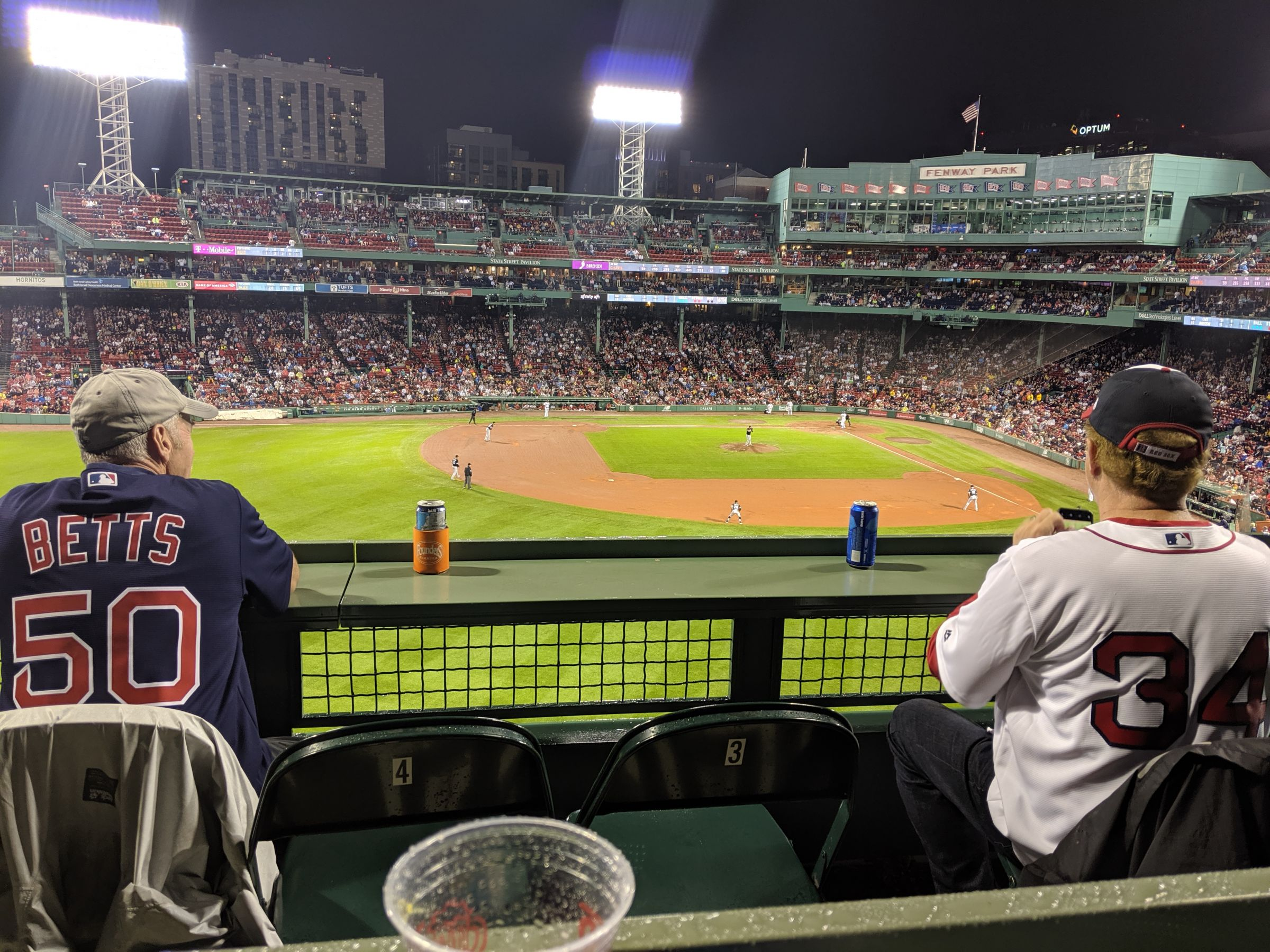 Seat View for Fenway Park Green Monster SRO, Row GENERAL
