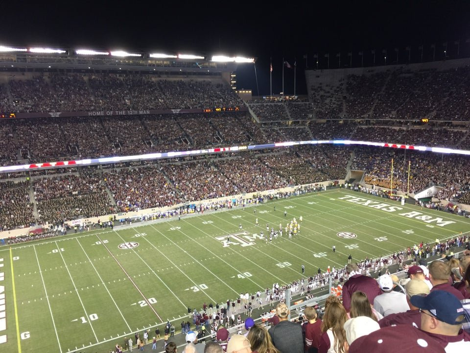 Seat View for Kyle Field Section 407