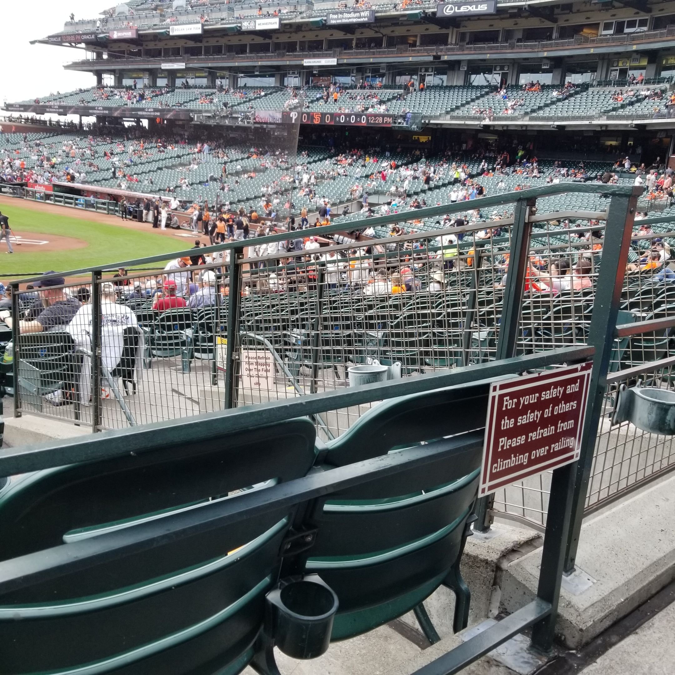 Oracle Park Section 122 Seats