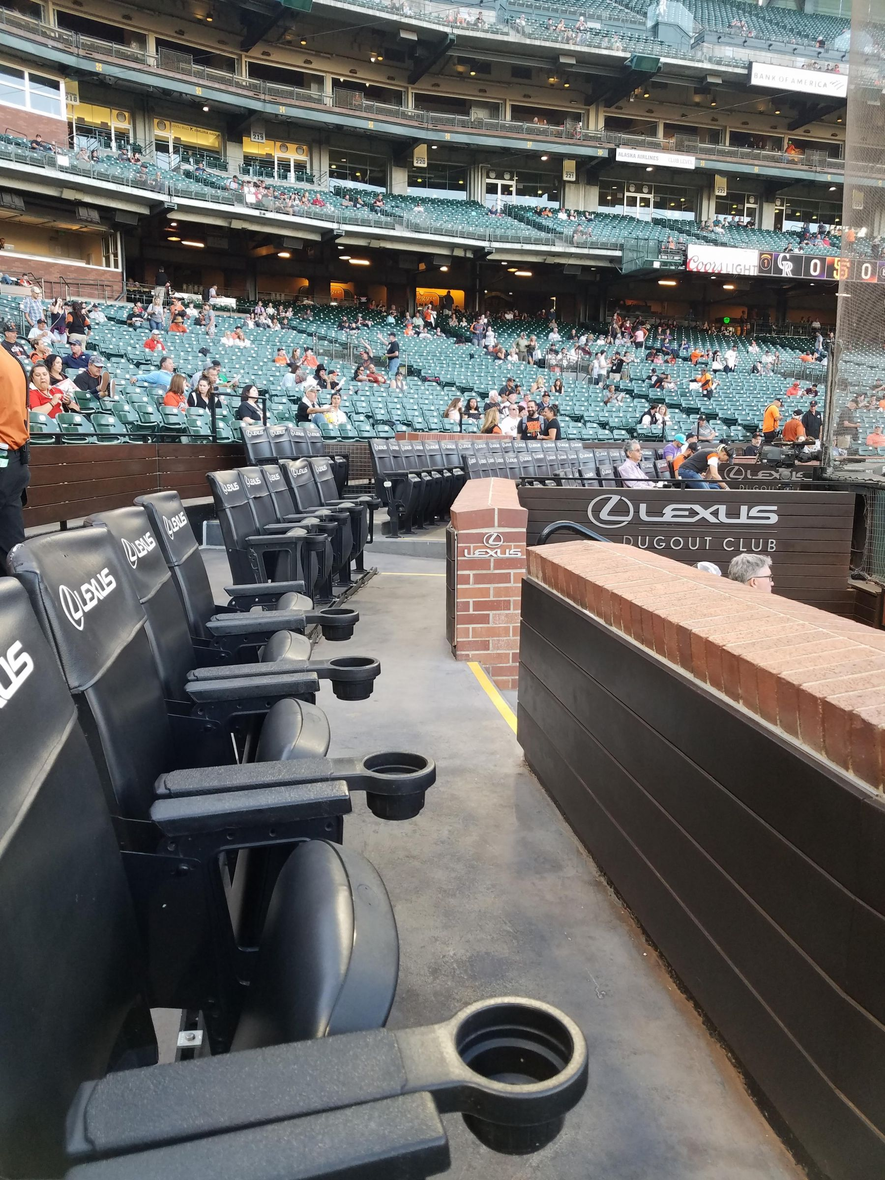 Oracle Park Section 112 Seats