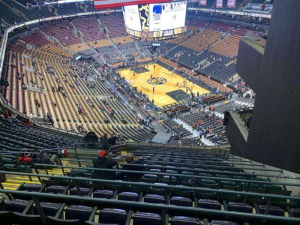 scotiabank arena section toronto raptors rateyourseatscom
