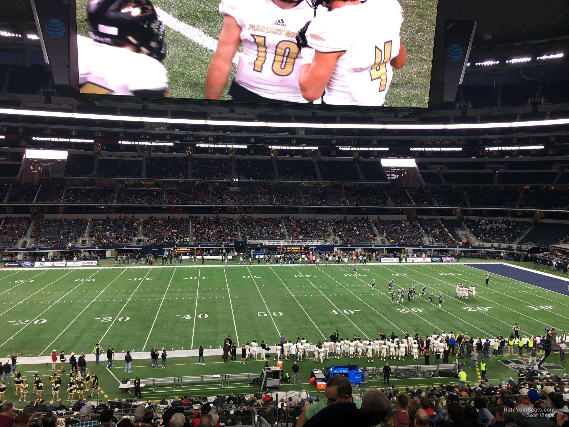 Att Stadium Section C235 Dallas Cowboys Rateyourseatscom