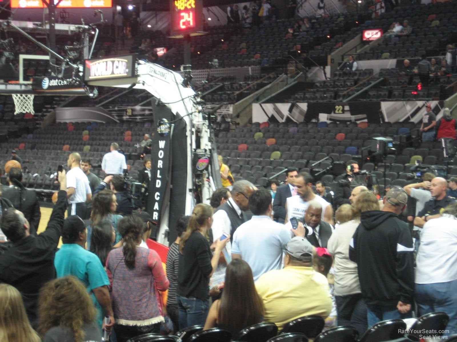 Entry Tunnel Near Section 101 at the AT&T Center