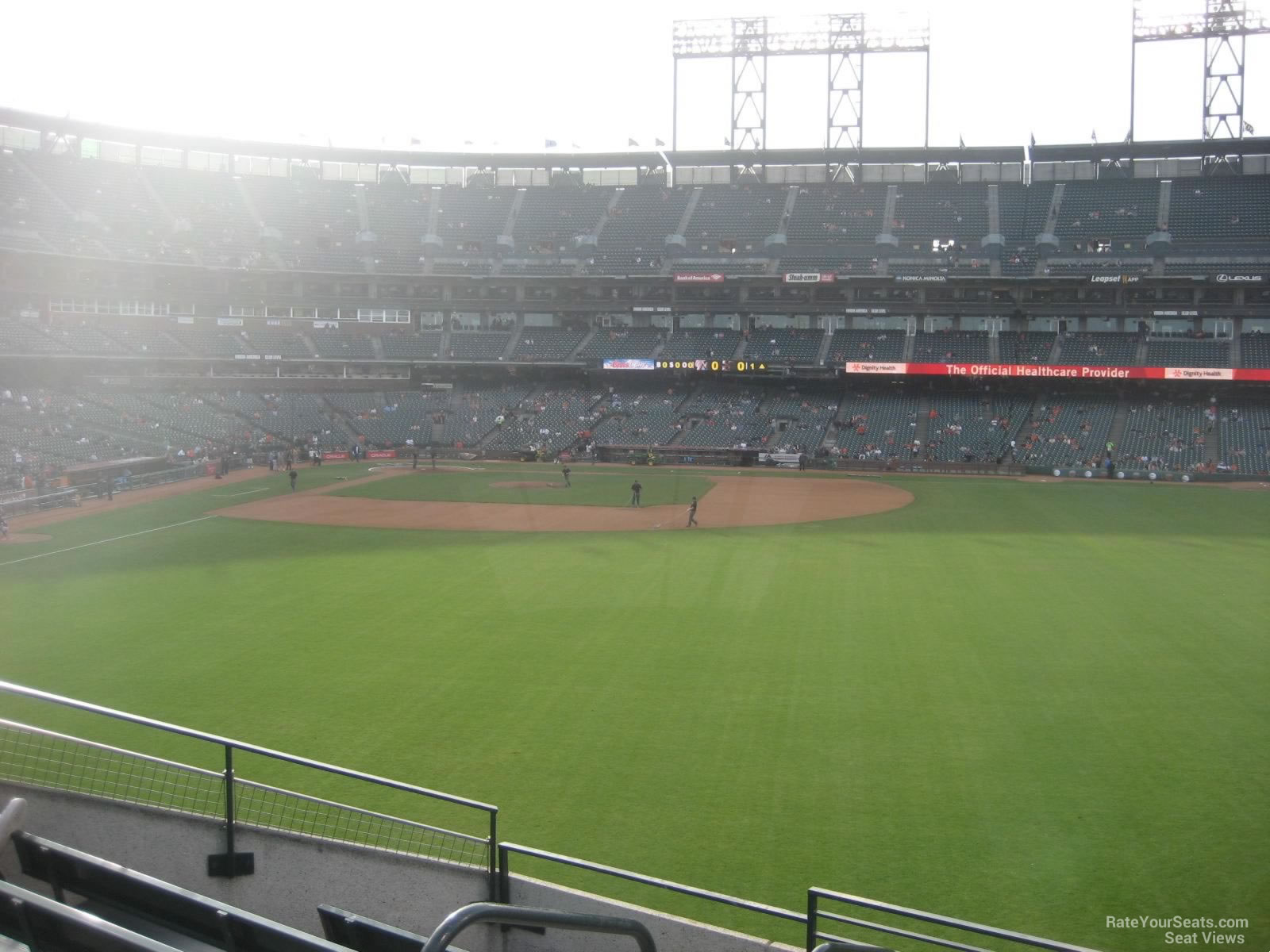 San Francisco Giants Seat View for Oracle Park Section 146