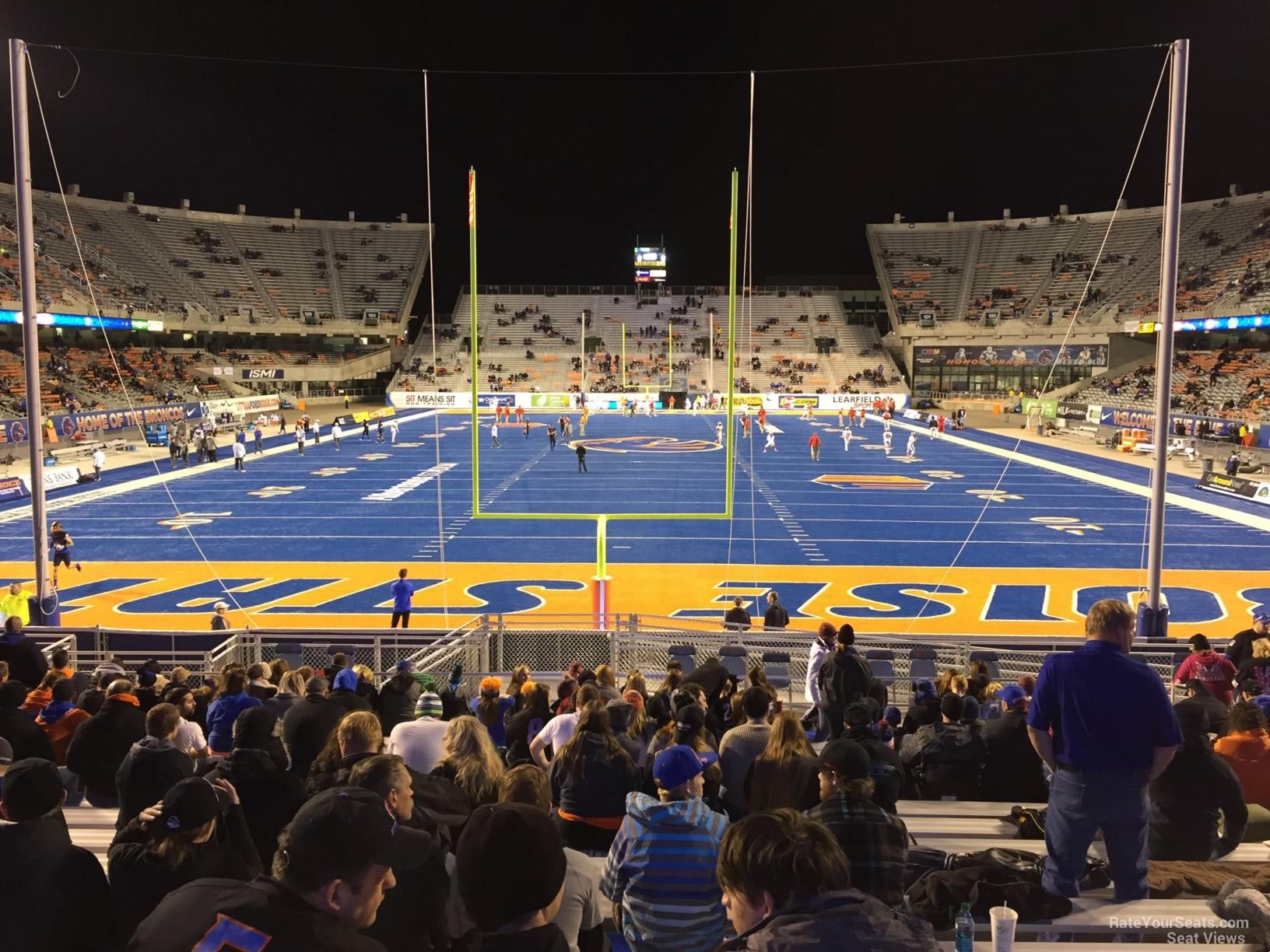 Bronco Stadium North End Zone - RateYourSeats.com
