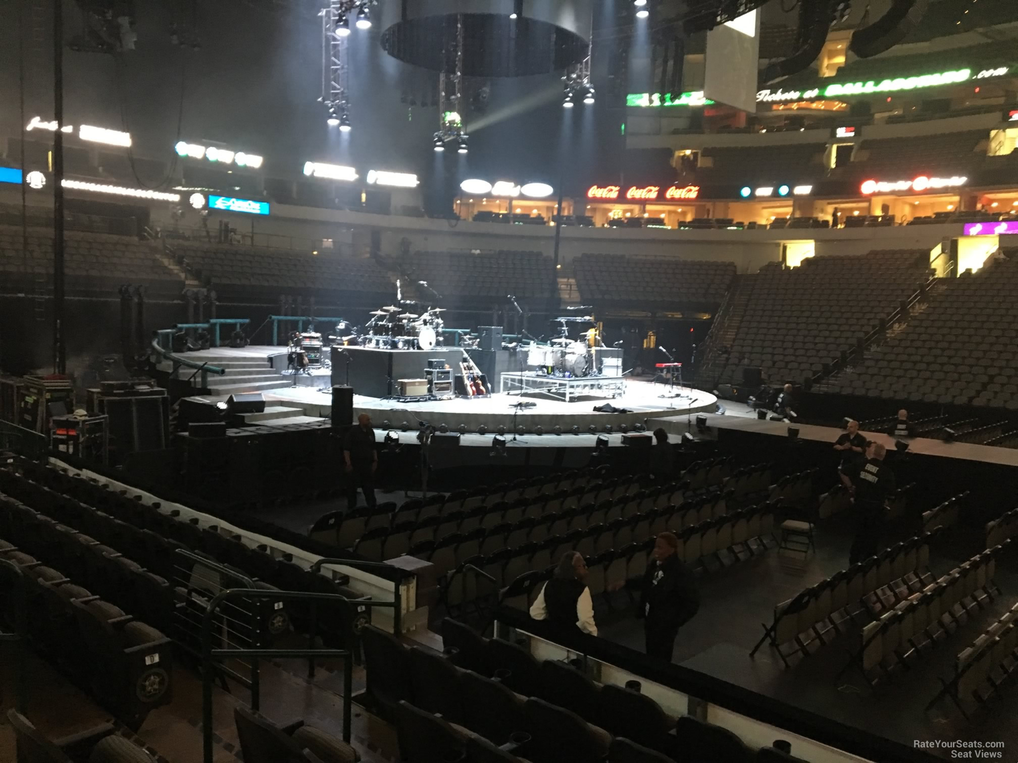 American Airlines Center Section 119 Concert Seating