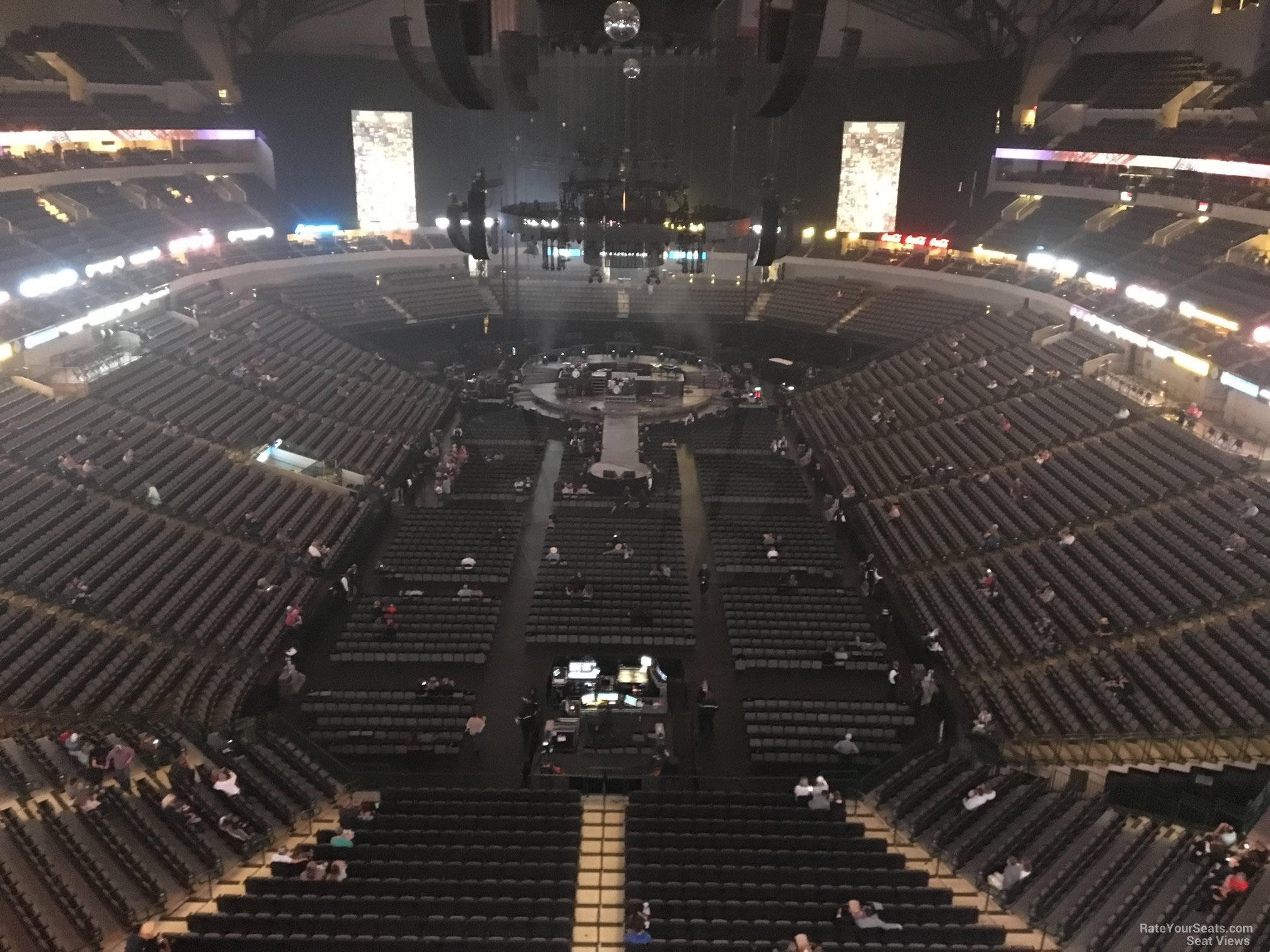 American Airlines Center Section 318 Concert Seating