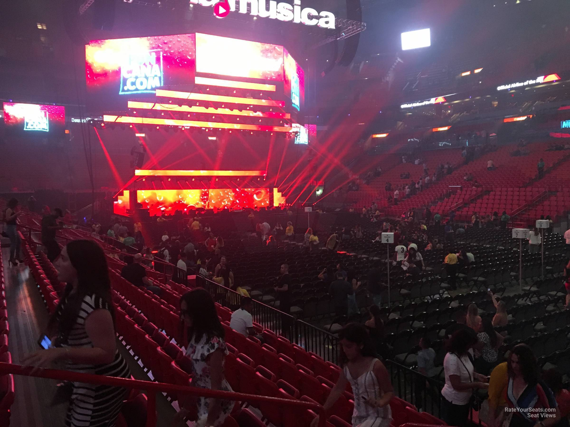americanairlines arena section concert seating rateyourseatscom