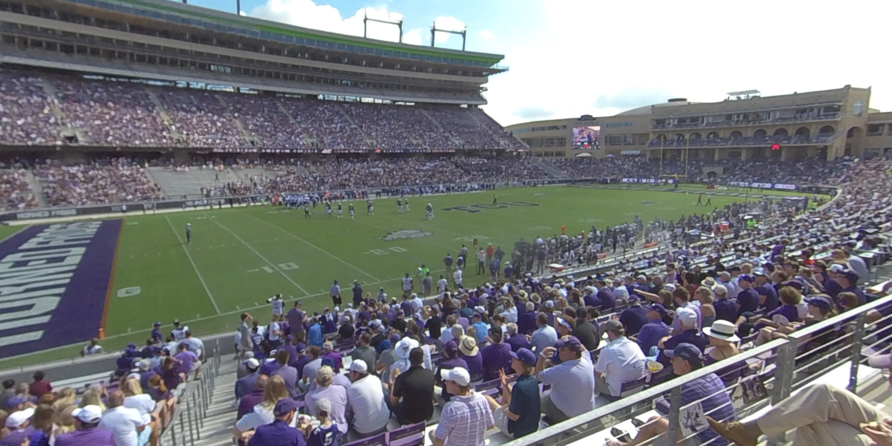 360° Photo From Amon Carter Stadium Section 107