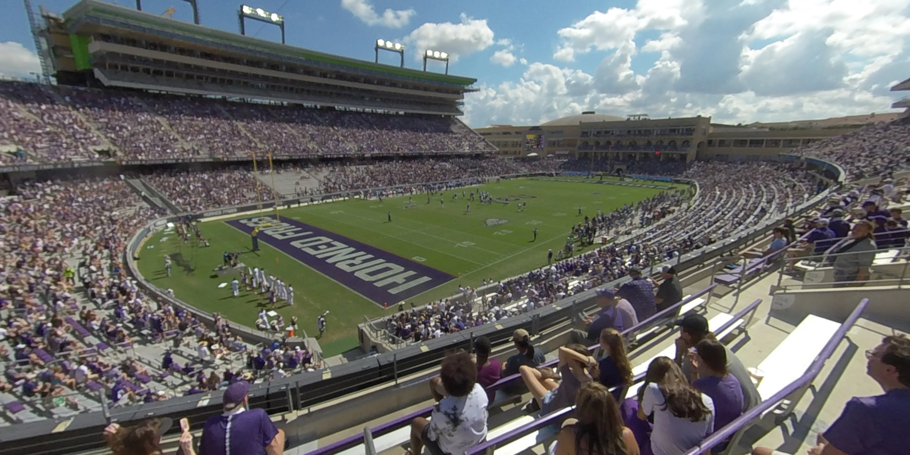 360° Photo From Amon Carter Stadium Section 215