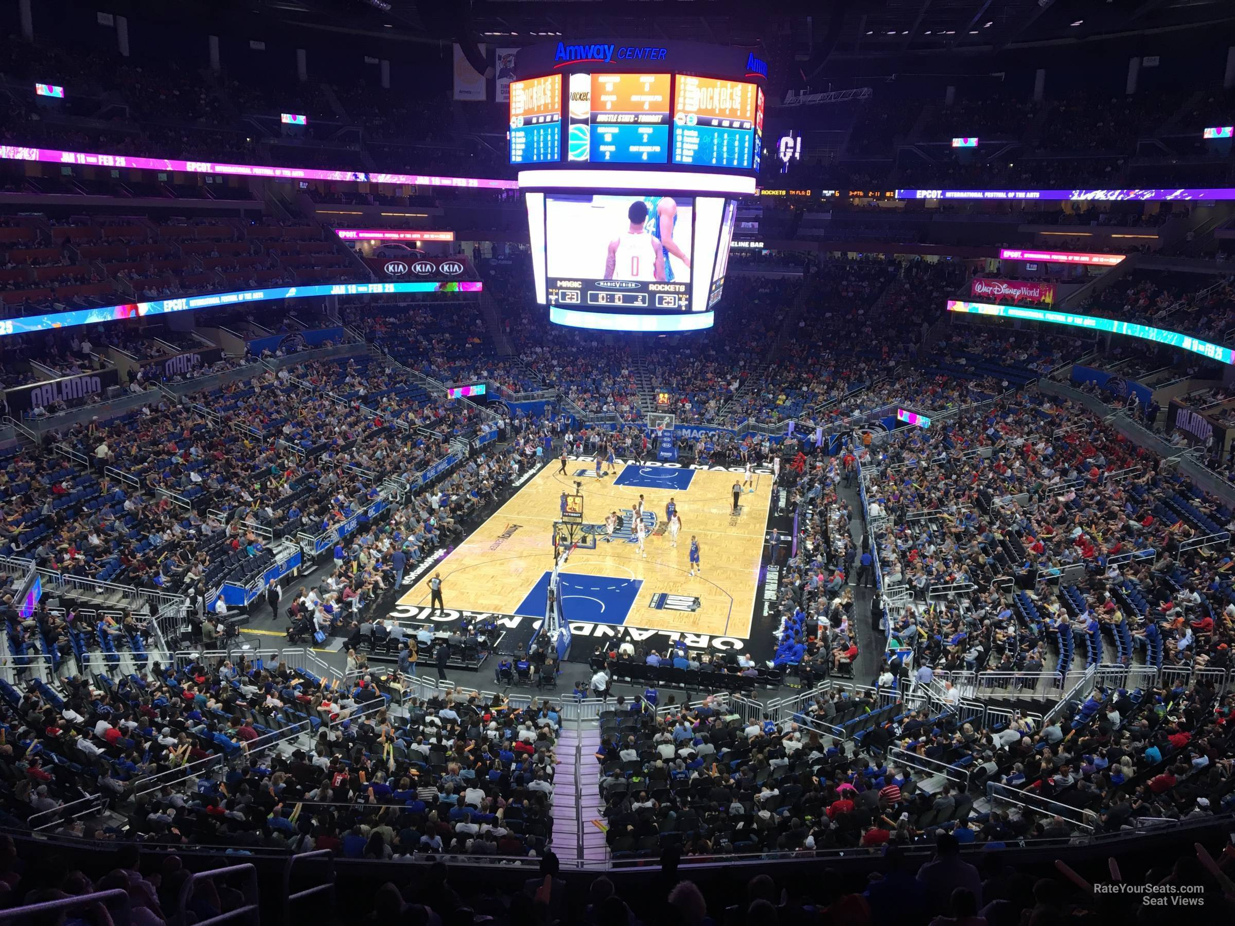 Amway Orlando Magic Seating Chart - The Chart
