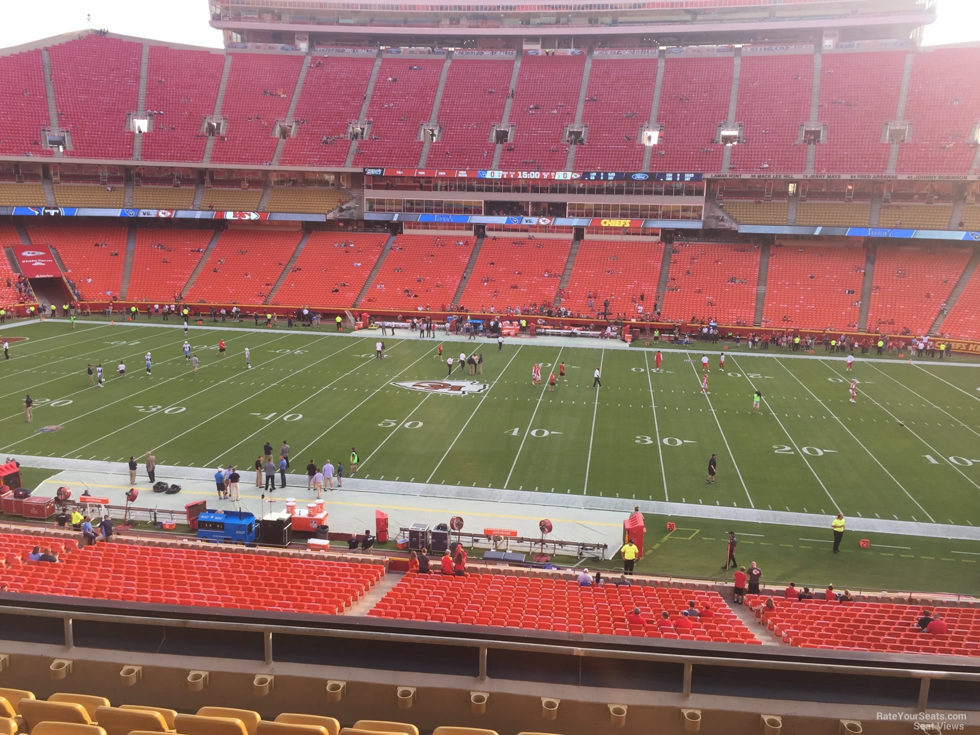 Arrowhead Stadium Section 246