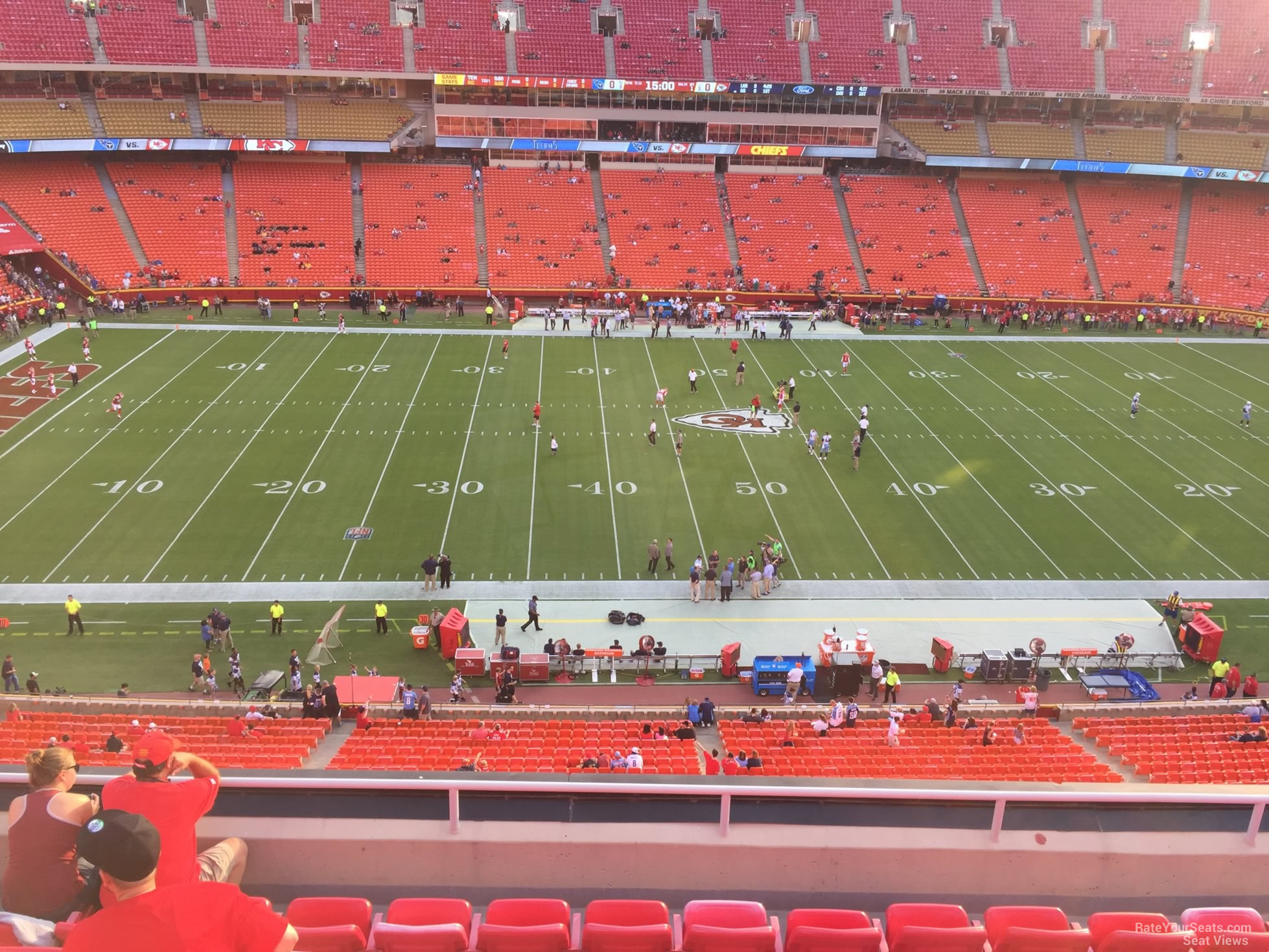 Seat View for Arrowhead Stadium Section 302, Row 7
