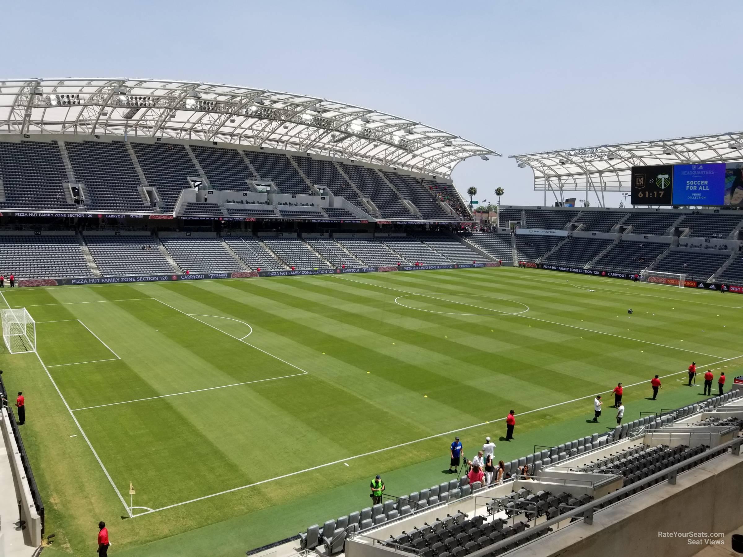 Banc Of California Stadium Section 235 Rateyourseatscom