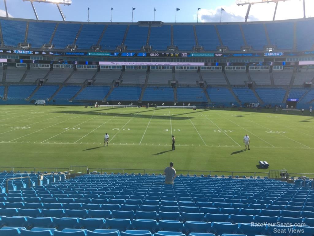 Bank of America Stadium Section 111 - RateYourSeats com