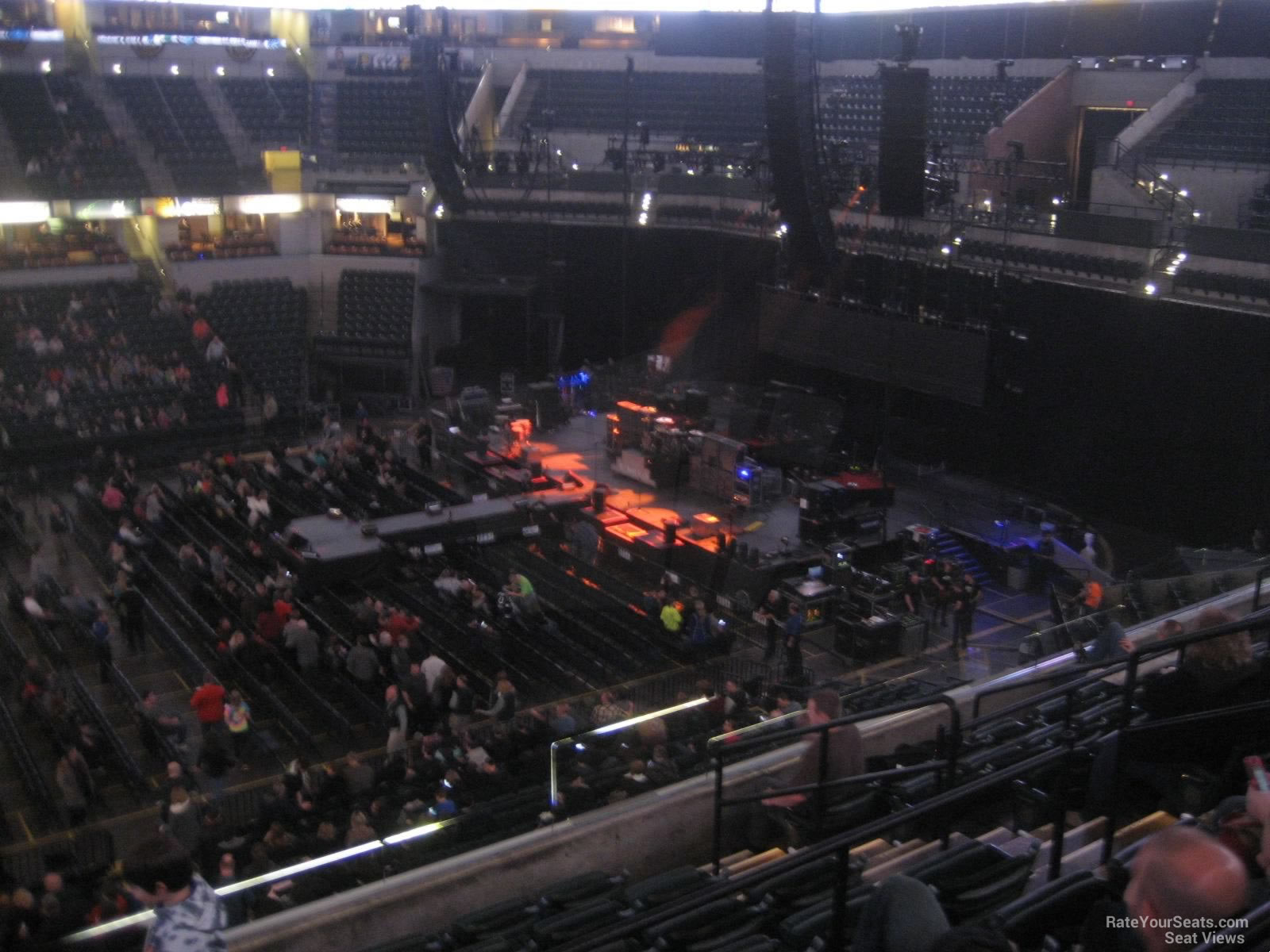 Bankers Life Fieldhouse Section 104 Concert Seating