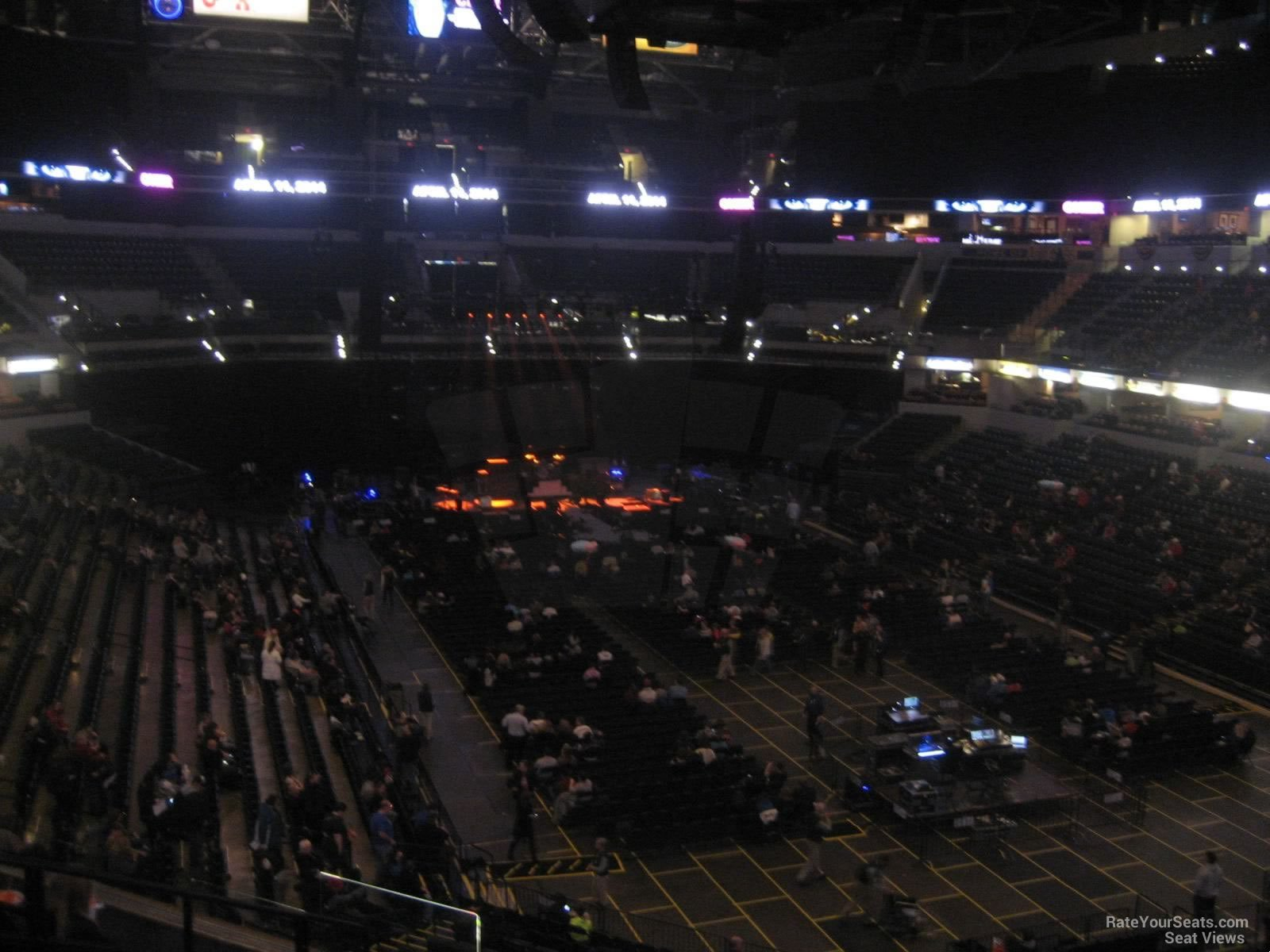 Bankers Life Fieldhouse Section 112 Concert Seating