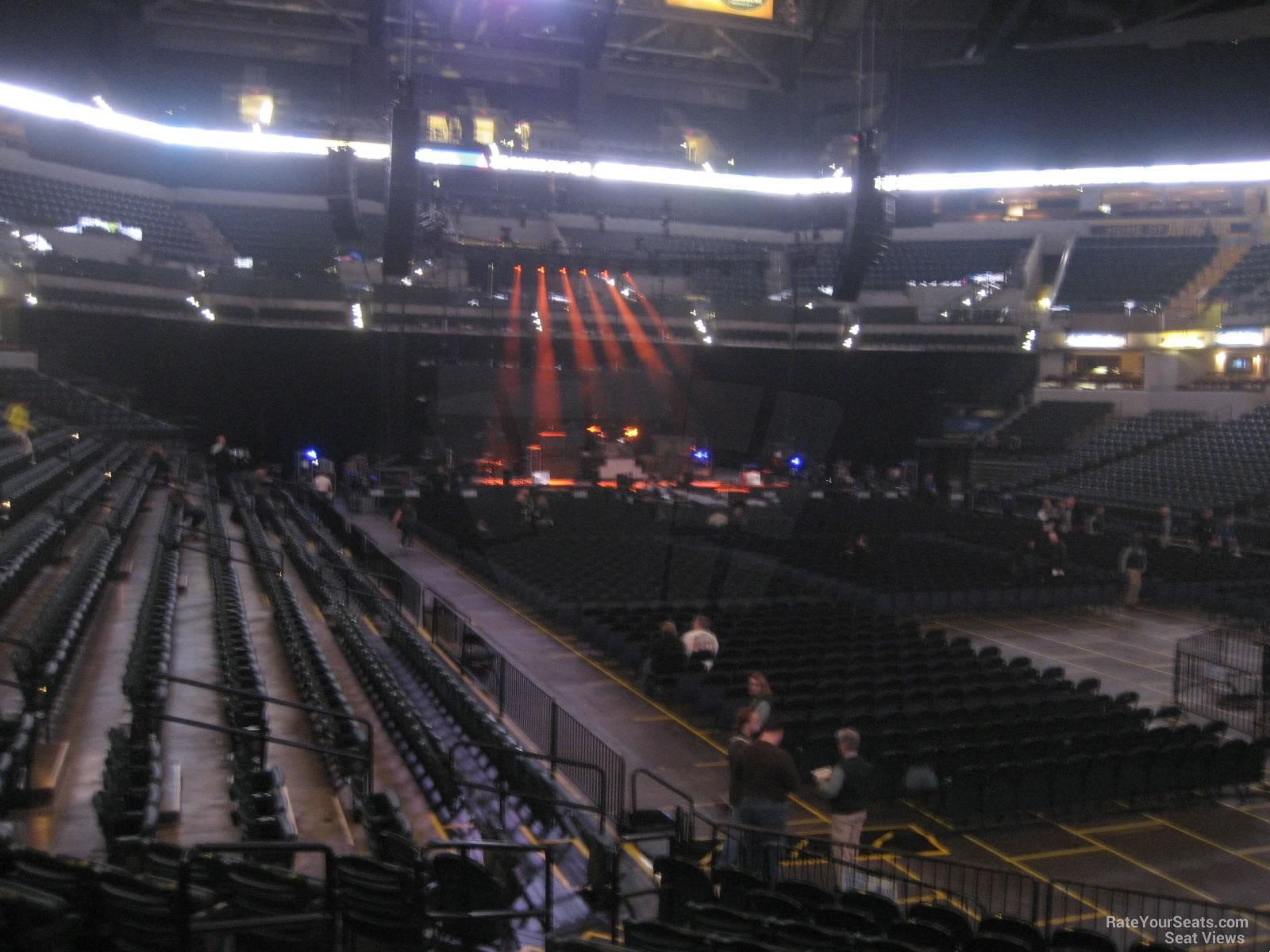 Bankers Life Fieldhouse Section 13 Concert Seating