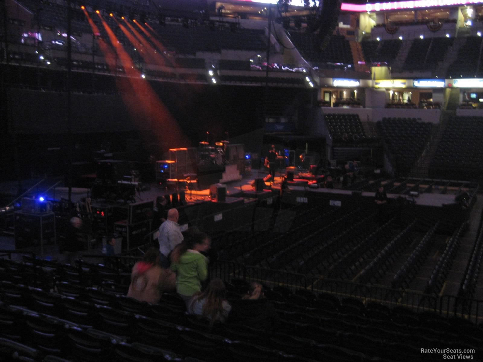 Bankers Life Fieldhouse Section 17 Concert Seating