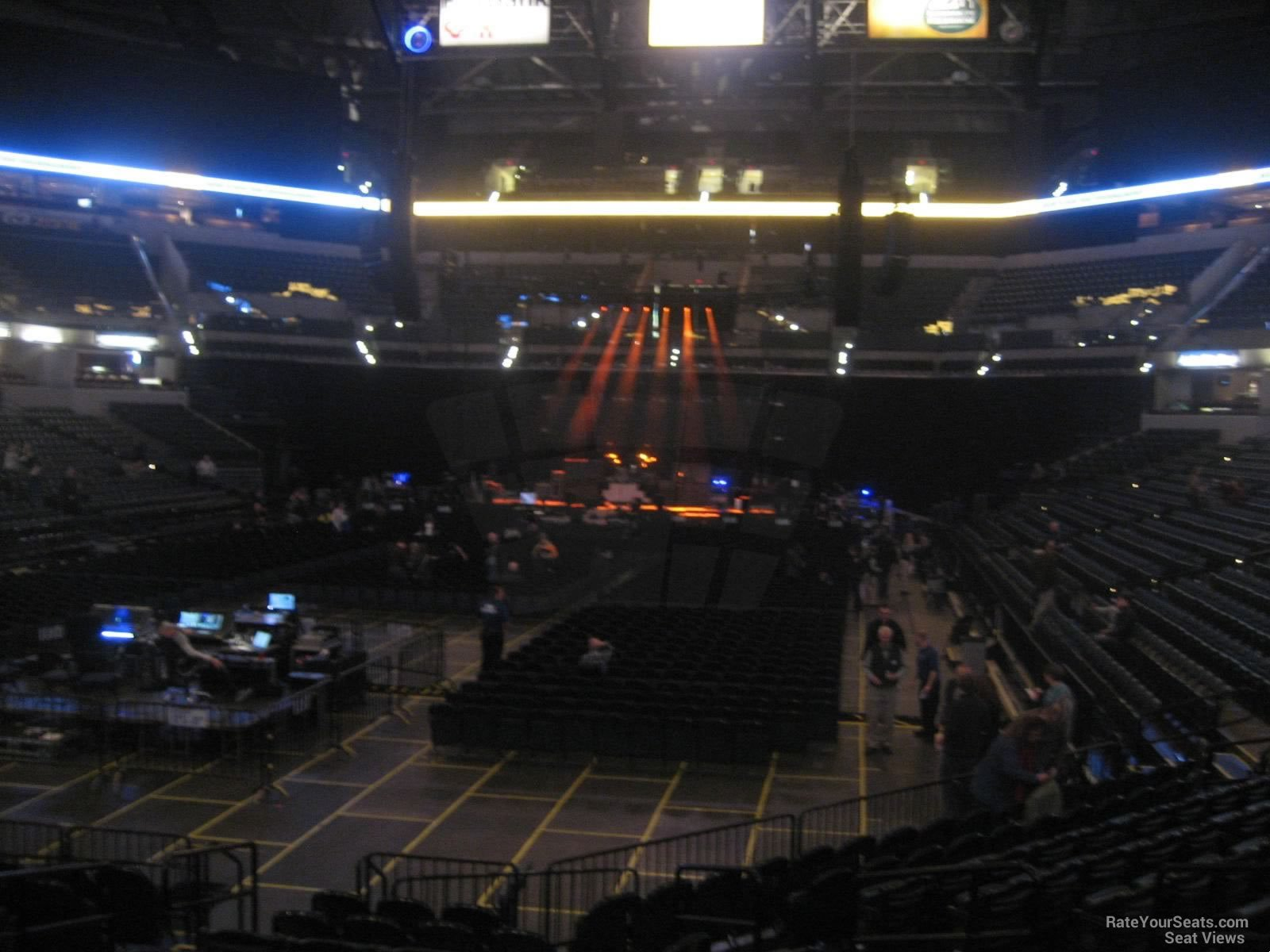 Bankers Life Fieldhouse Concert Seating Chart