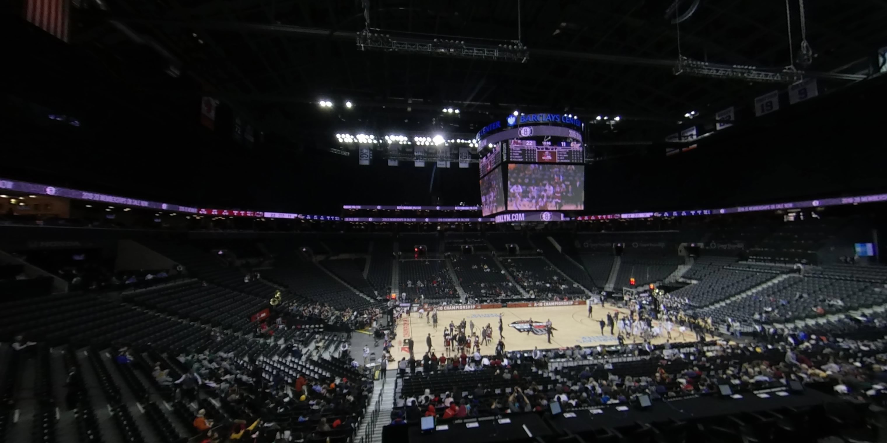 360° Photo From Barclays Center Section 109