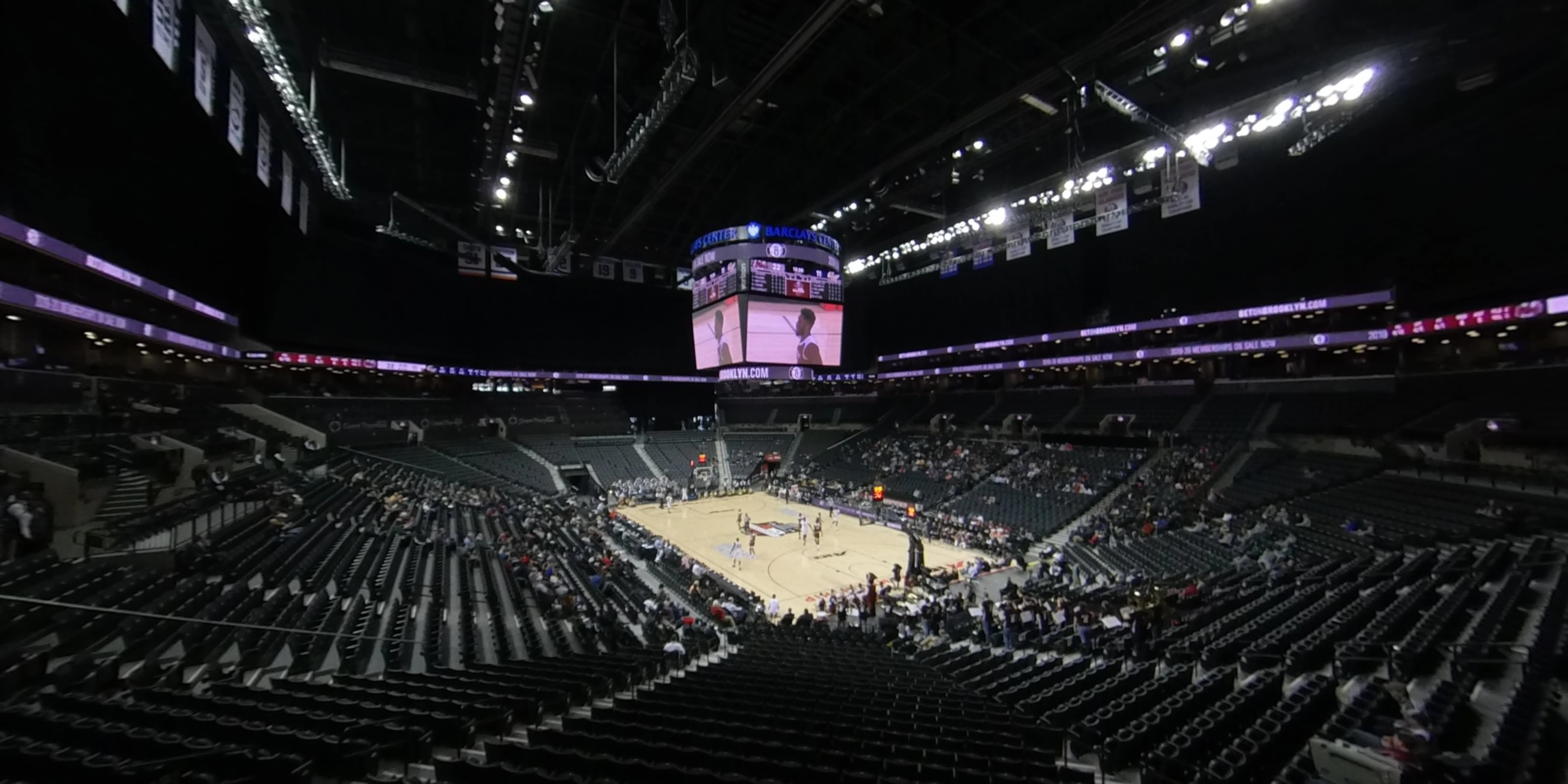360° Photo From Barclays Center Section 118