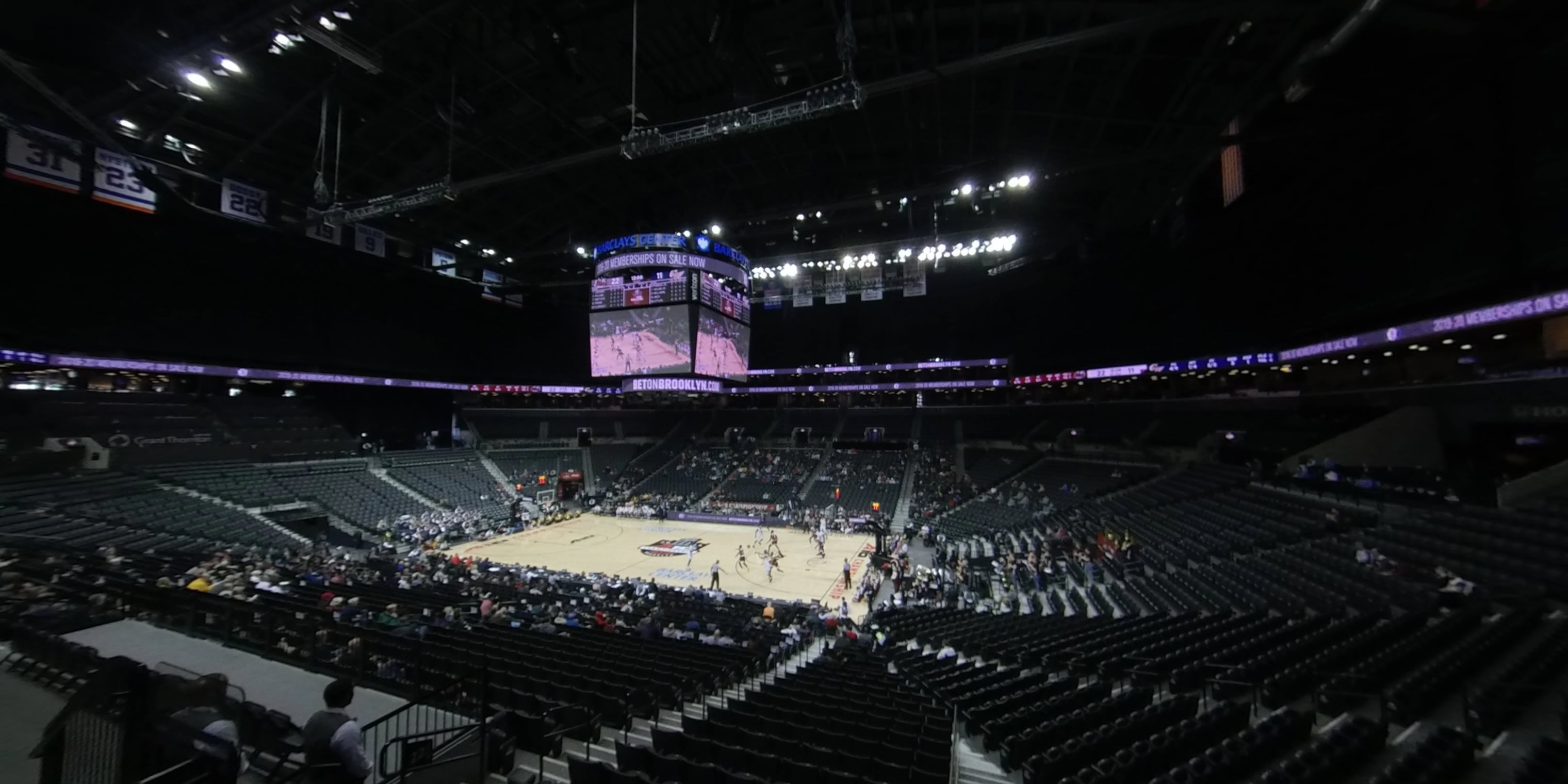 360° Photo From Barclays Center Section 121