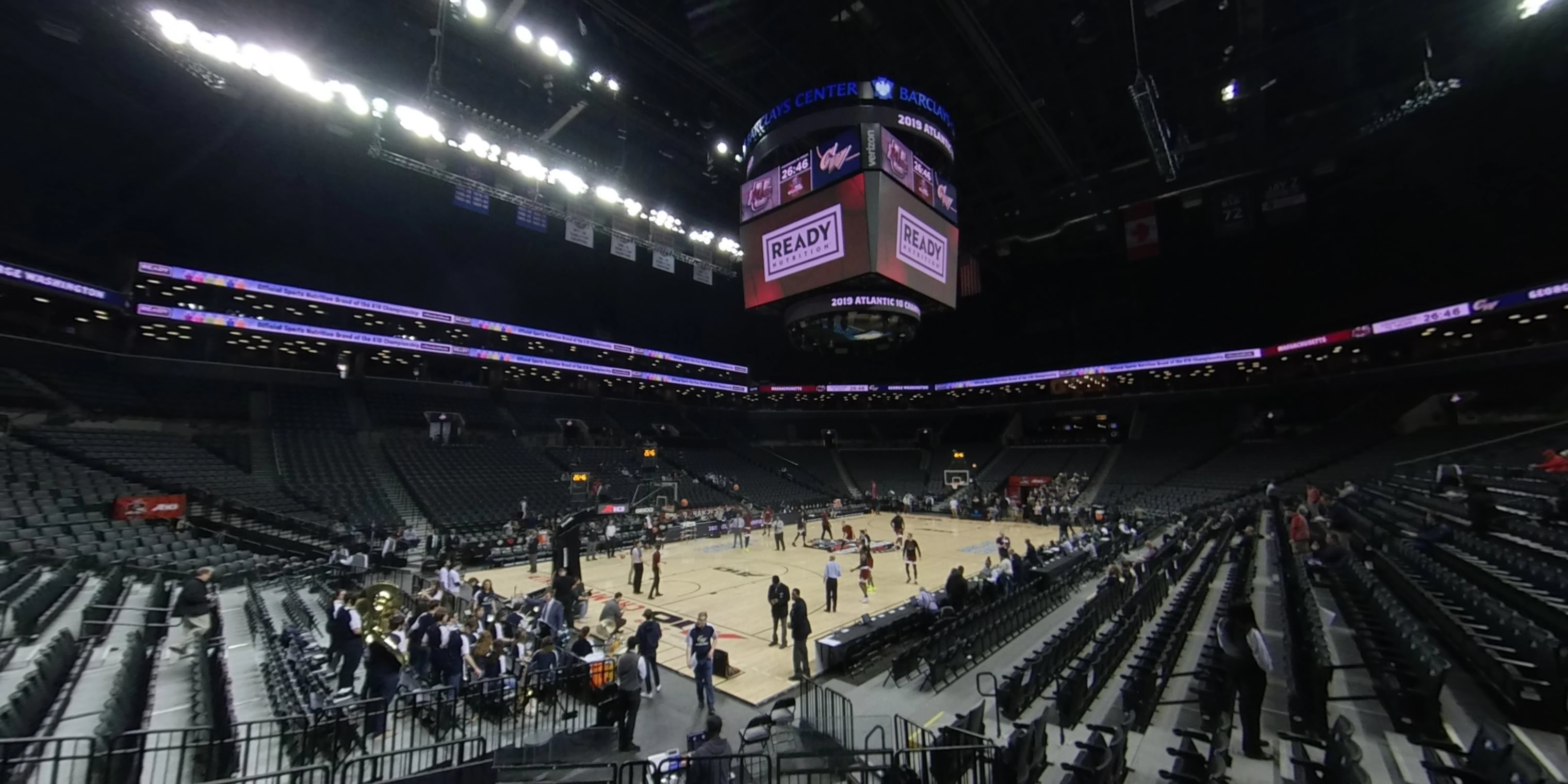360° Photo From Barclays Center Section 26