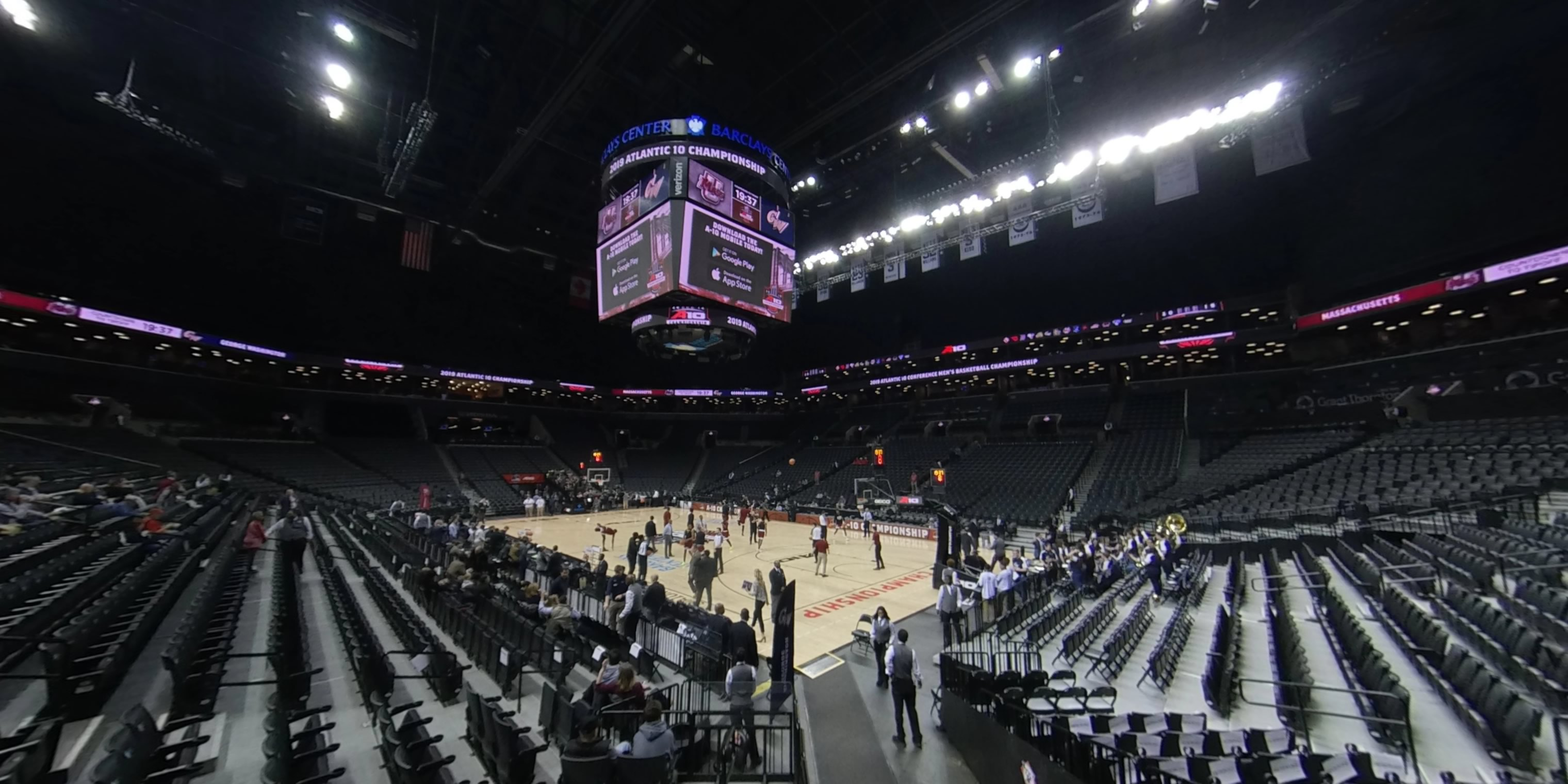 360° Photo From Barclays Center Section 3