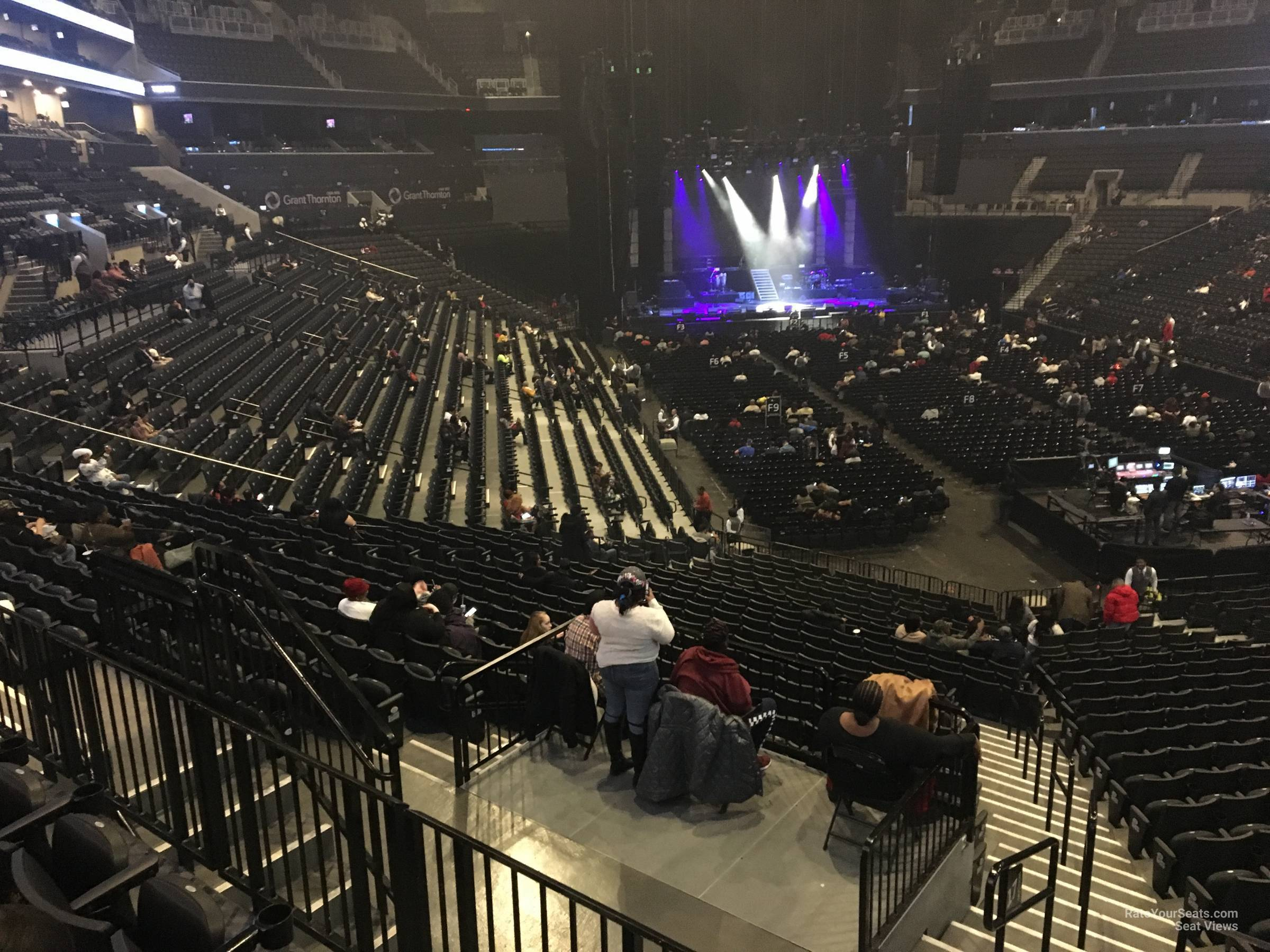 Barclays Center Section 118 Concert Seating Rateyourseatscom