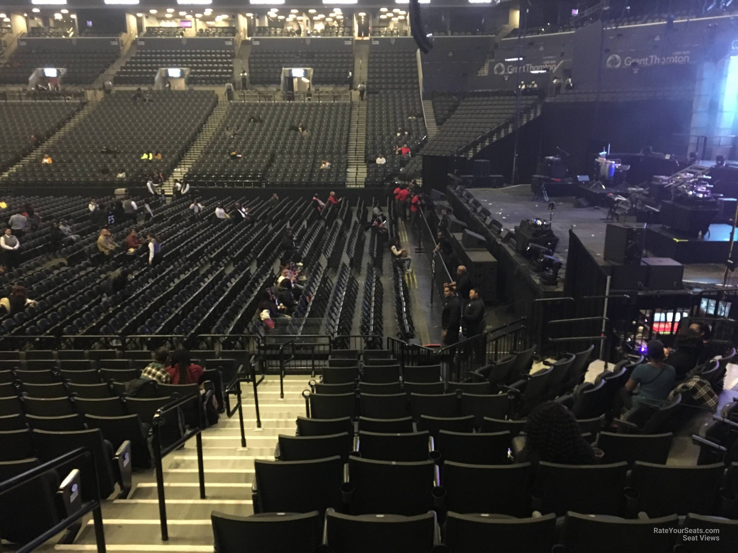 Barclays Center Section 6 Concert Seating Rateyourseatscom