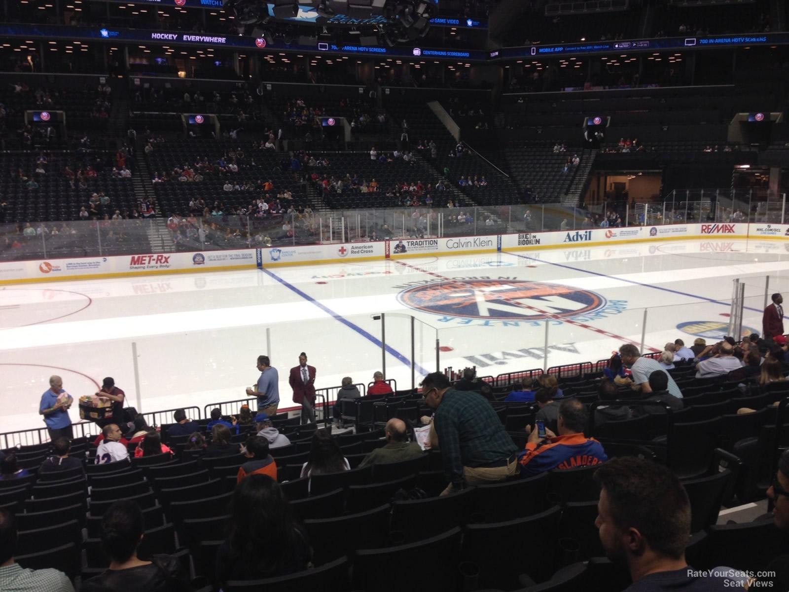 Barclays Center Section 9 New York Islanders Rateyourseatscom