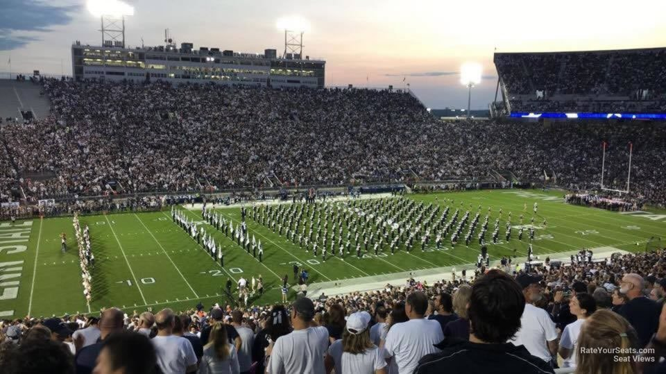 Seat View for Beaver Stadium Section ECU, Row 44