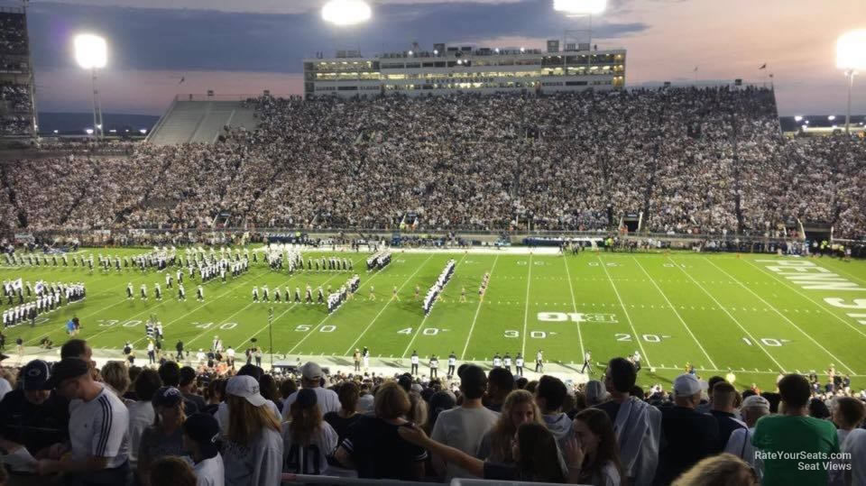 Seat View for Beaver Stadium Section EGU, Row 44