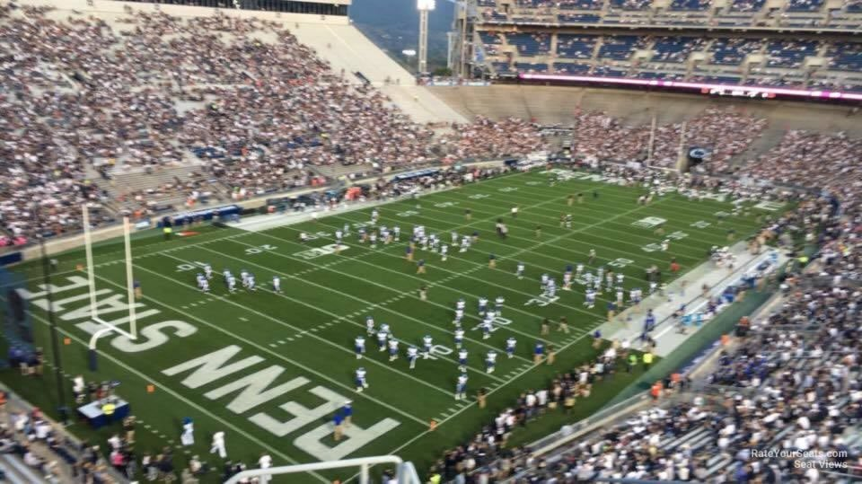 Seat View for Beaver Stadium Section NAU, Row 64