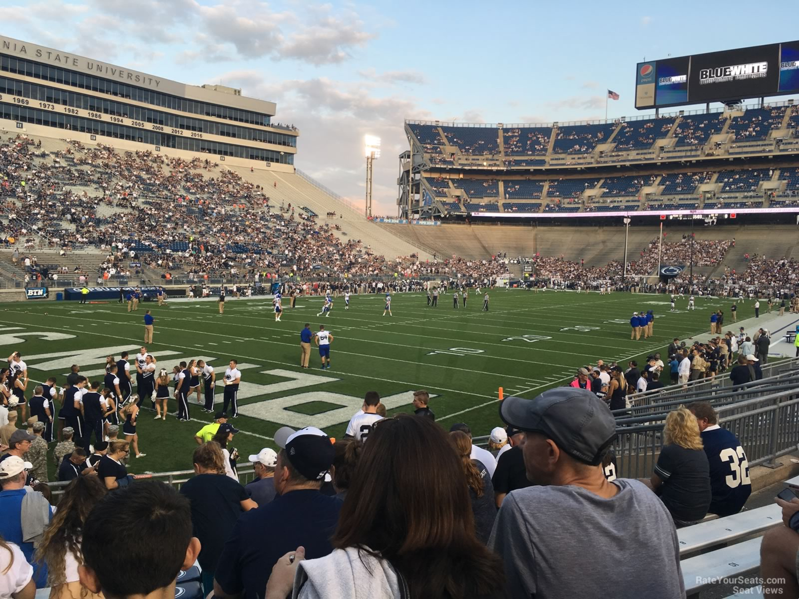 Beaver Stadium Section Nb