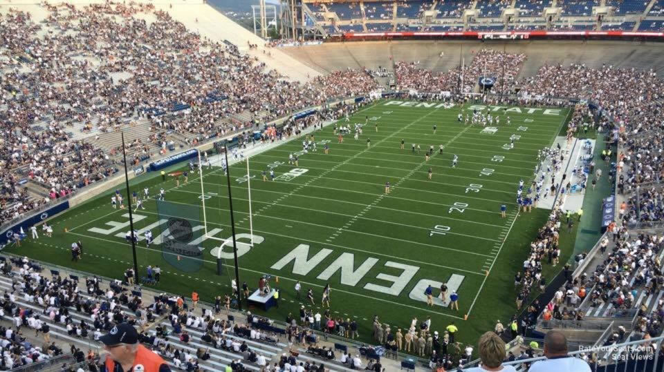 Seat View for Beaver Stadium Section NCU, Row 64