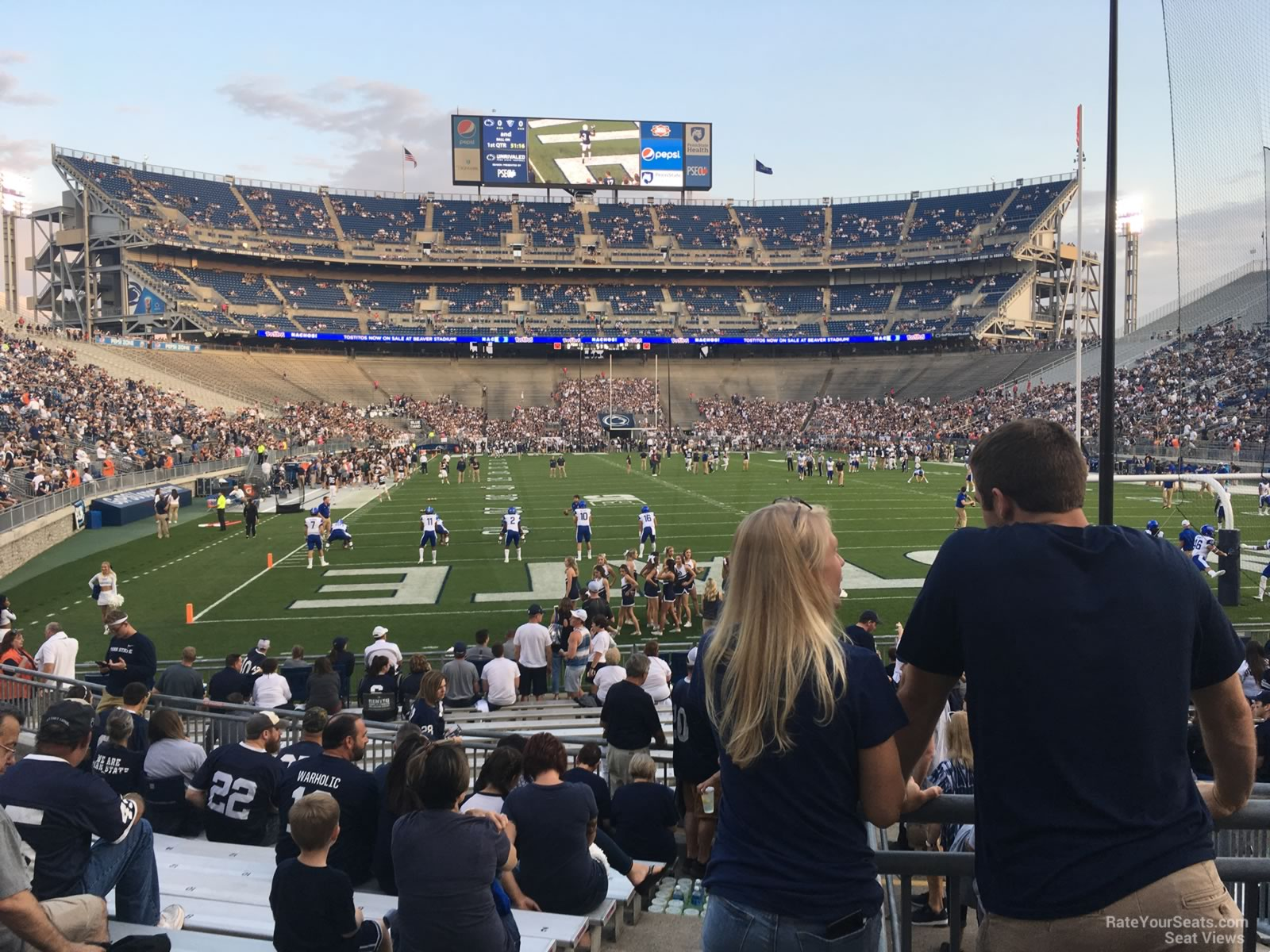 Seat View for Beaver Stadium Section NH, Row 15
