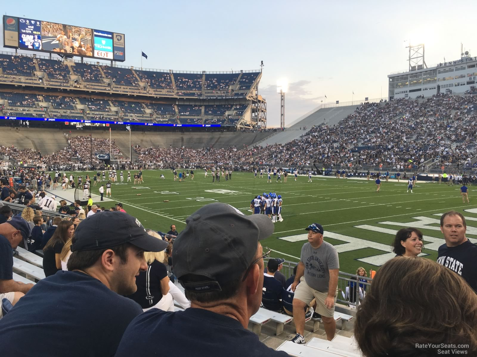 Seat View for Beaver Stadium Section NL, Row 15