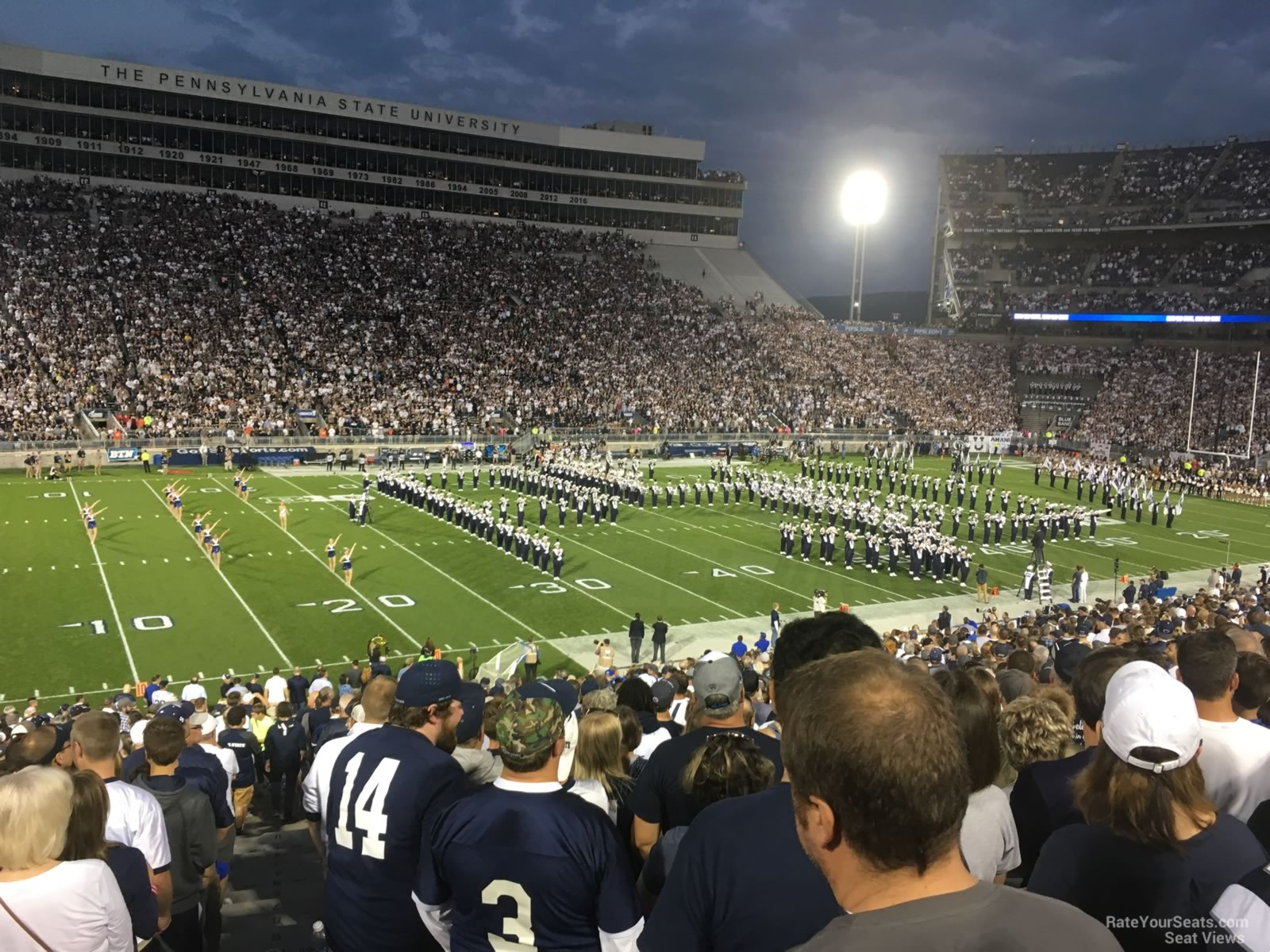 Seat View for Beaver Stadium Section WH, Row 25