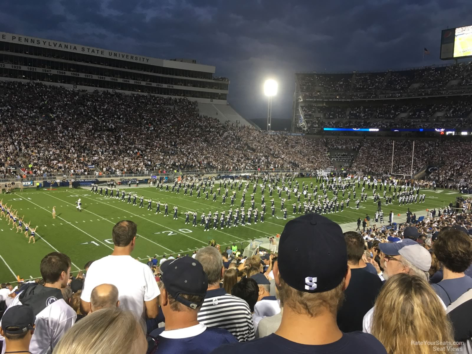 Seat View for Beaver Stadium Section WJ, Row 25